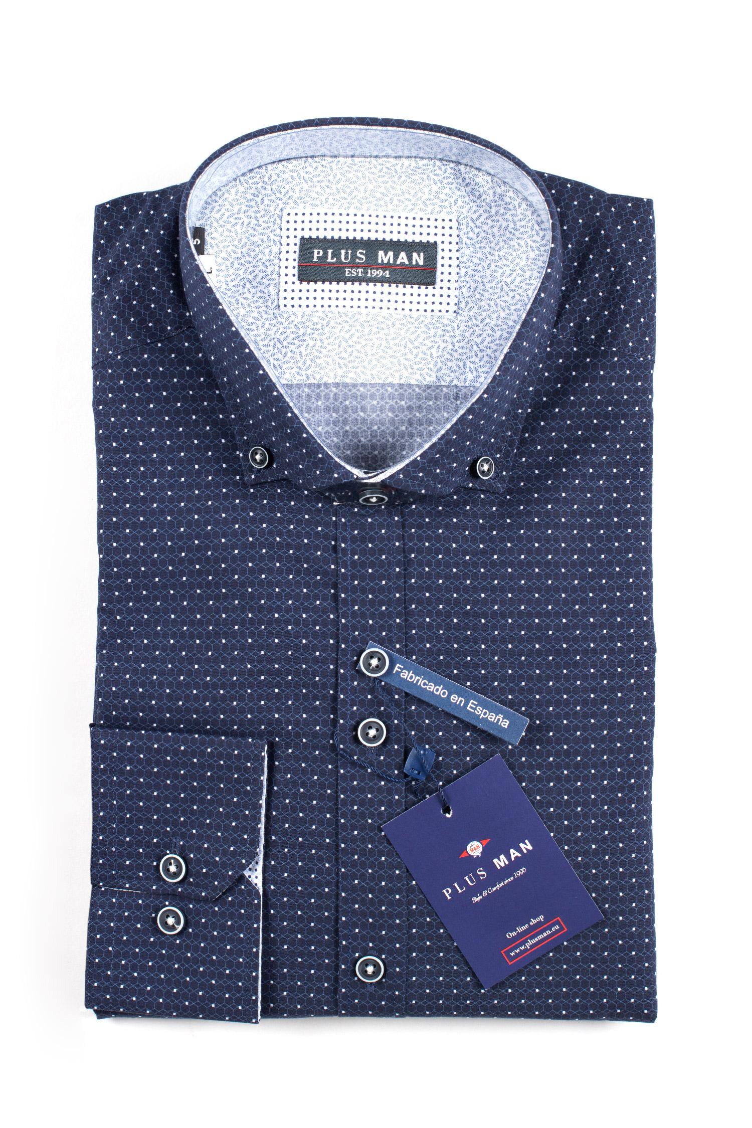 Camisas, Sport Manga Larga, 109844, MARINO   Zoom