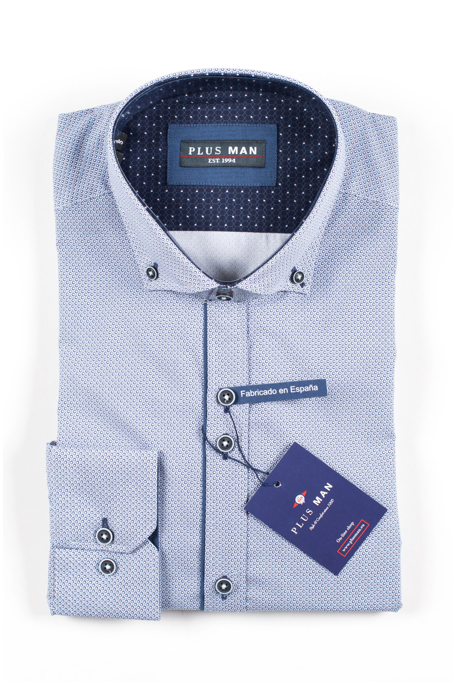 Camisas, Sport Manga Larga, 109845, MARINO | Zoom
