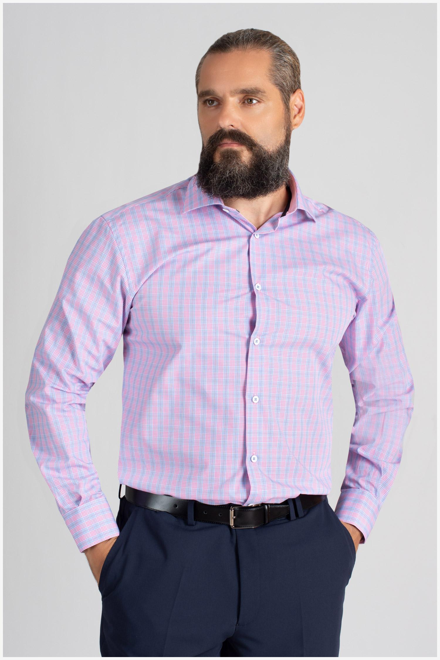 Camisas, Vestir Manga Larga, 109847, CELESTE | Zoom