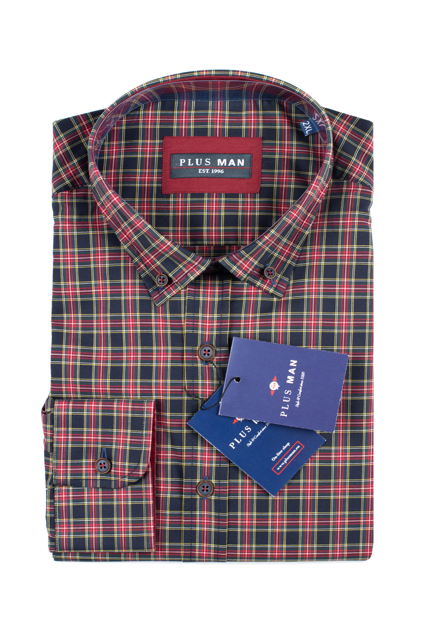 Camisas, Sport Manga Larga, 109851, MARINO | Zoom