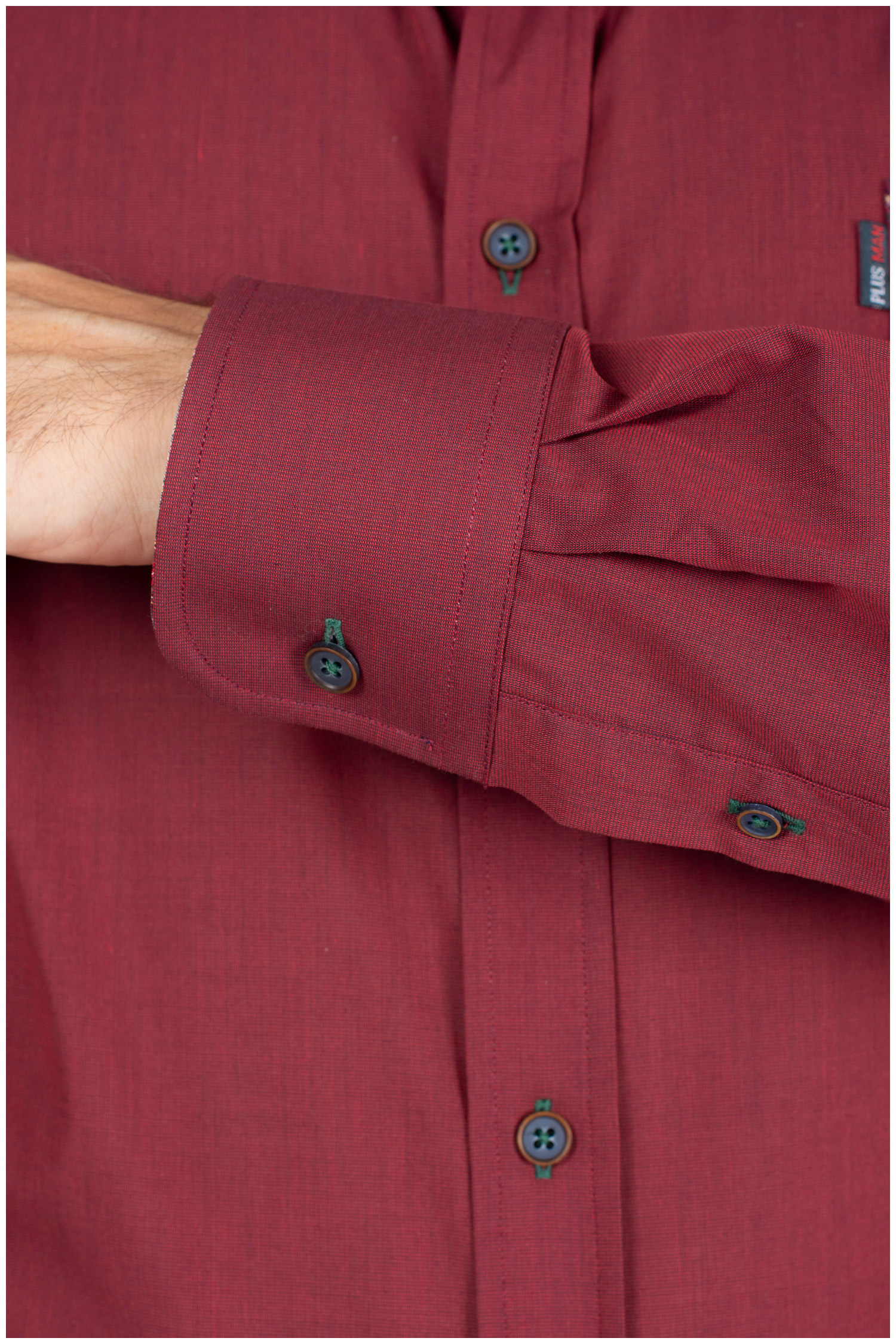 Camisas, Sport Manga Larga, 109853, GRANATE | Zoom