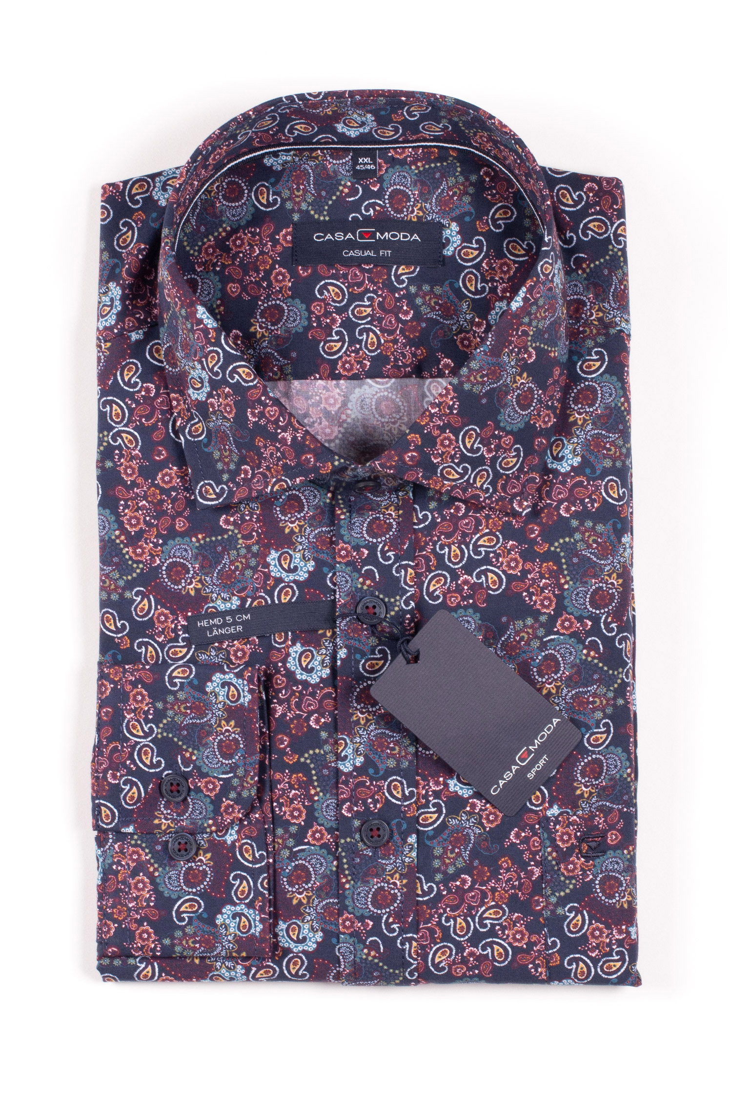 Camisas, Sport Manga Larga, 109860, MARINO | Zoom