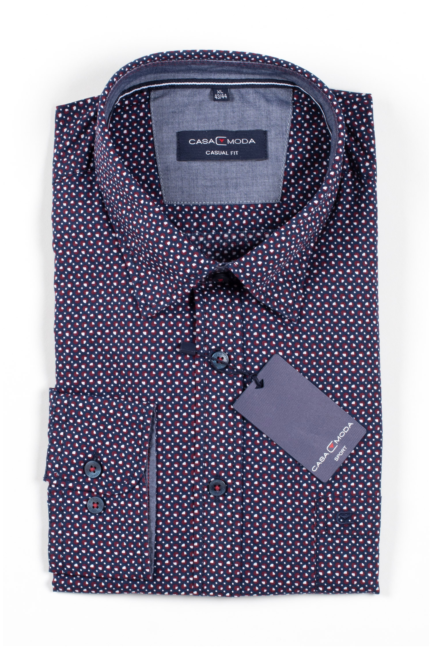 Camisas, Sport Manga Larga, 109861, MARINO | Zoom