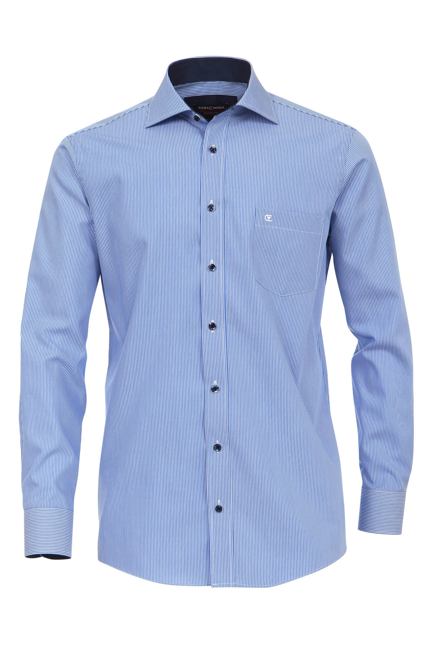 Camisas, Vestir Manga Larga, 109869, CELESTE | Zoom