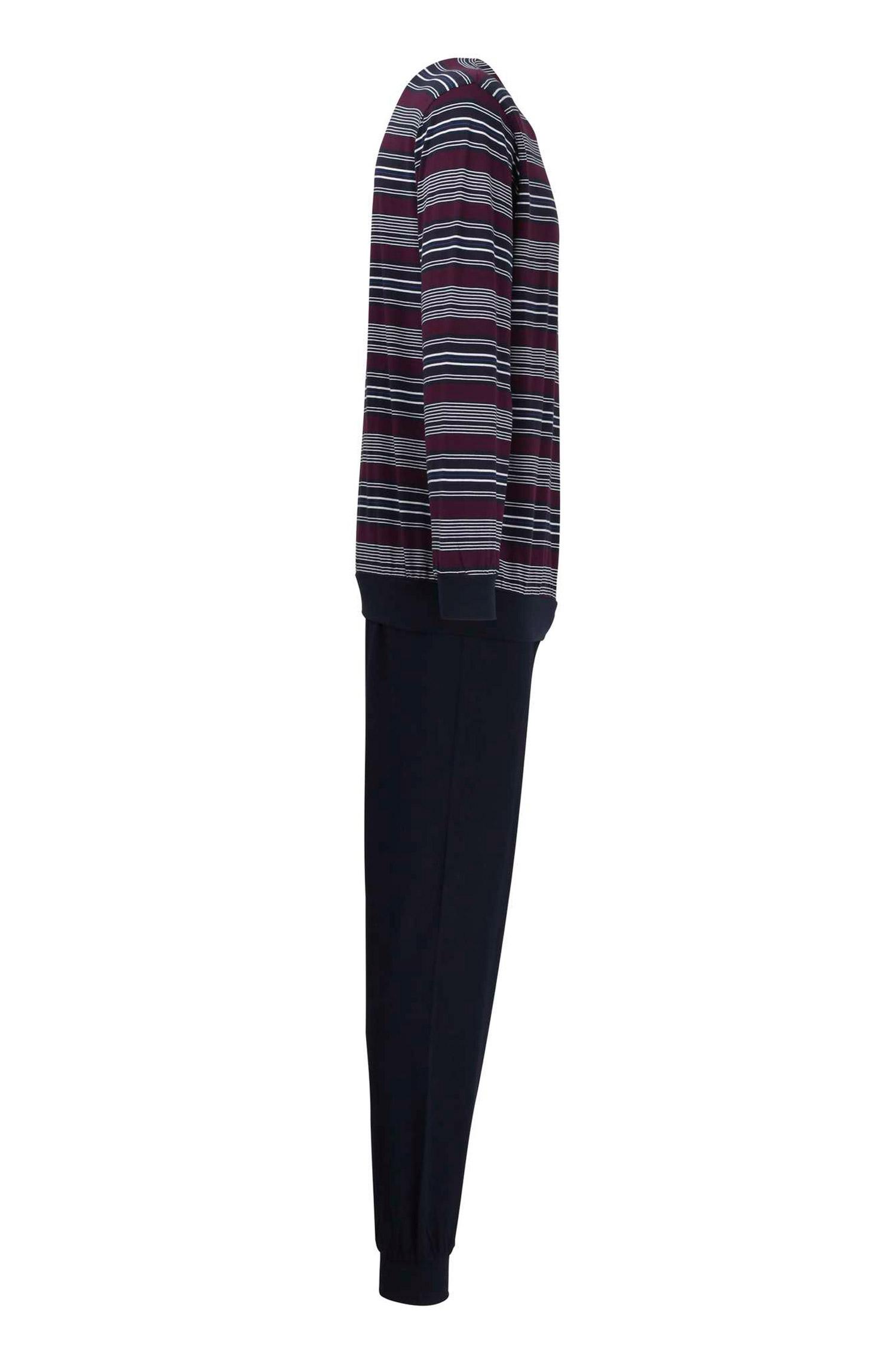 Homewear, Pijama M. Larga, 109881, BURDEOS | Zoom