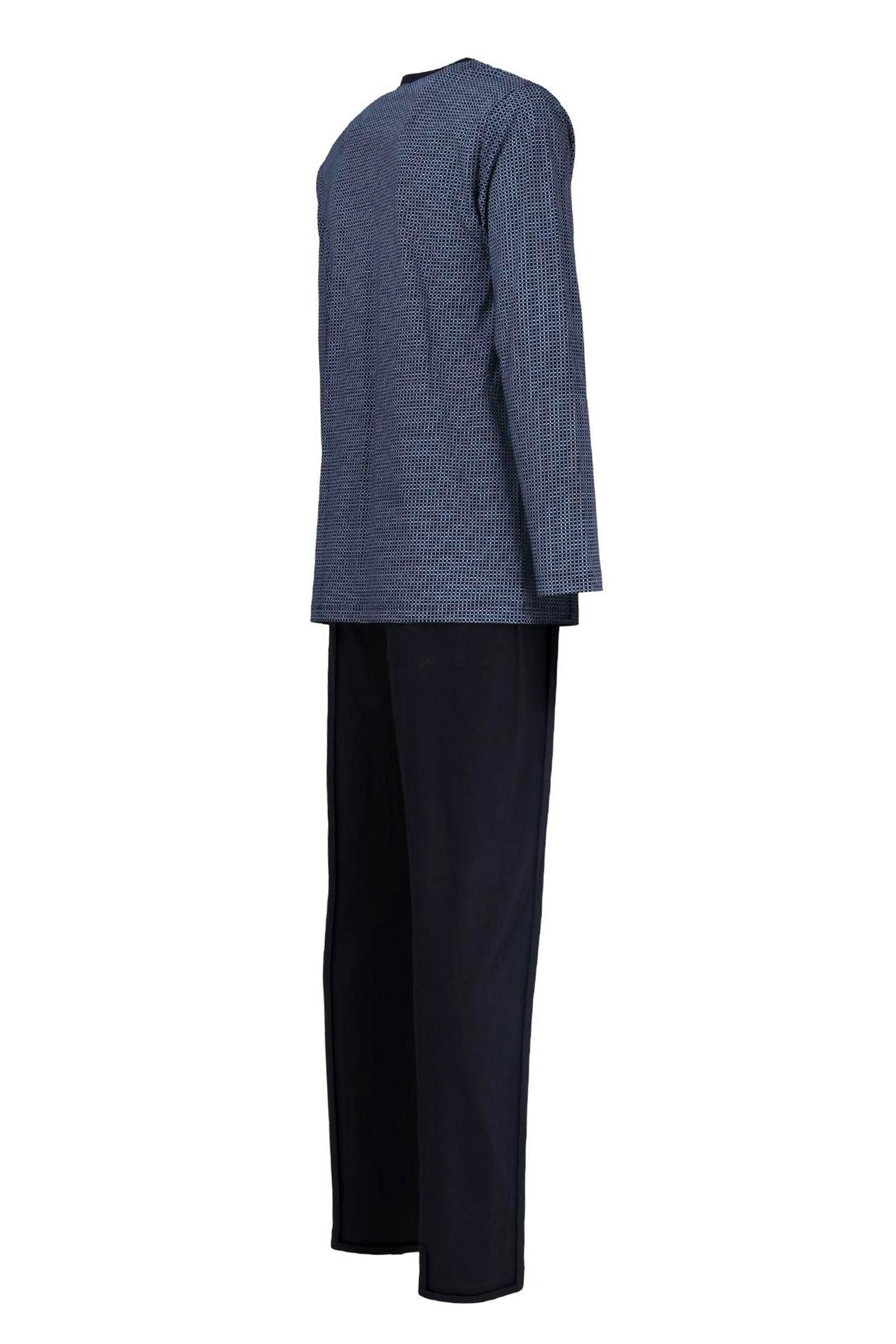 Homewear, Pijama M. Larga, 109889, MARINO | Zoom