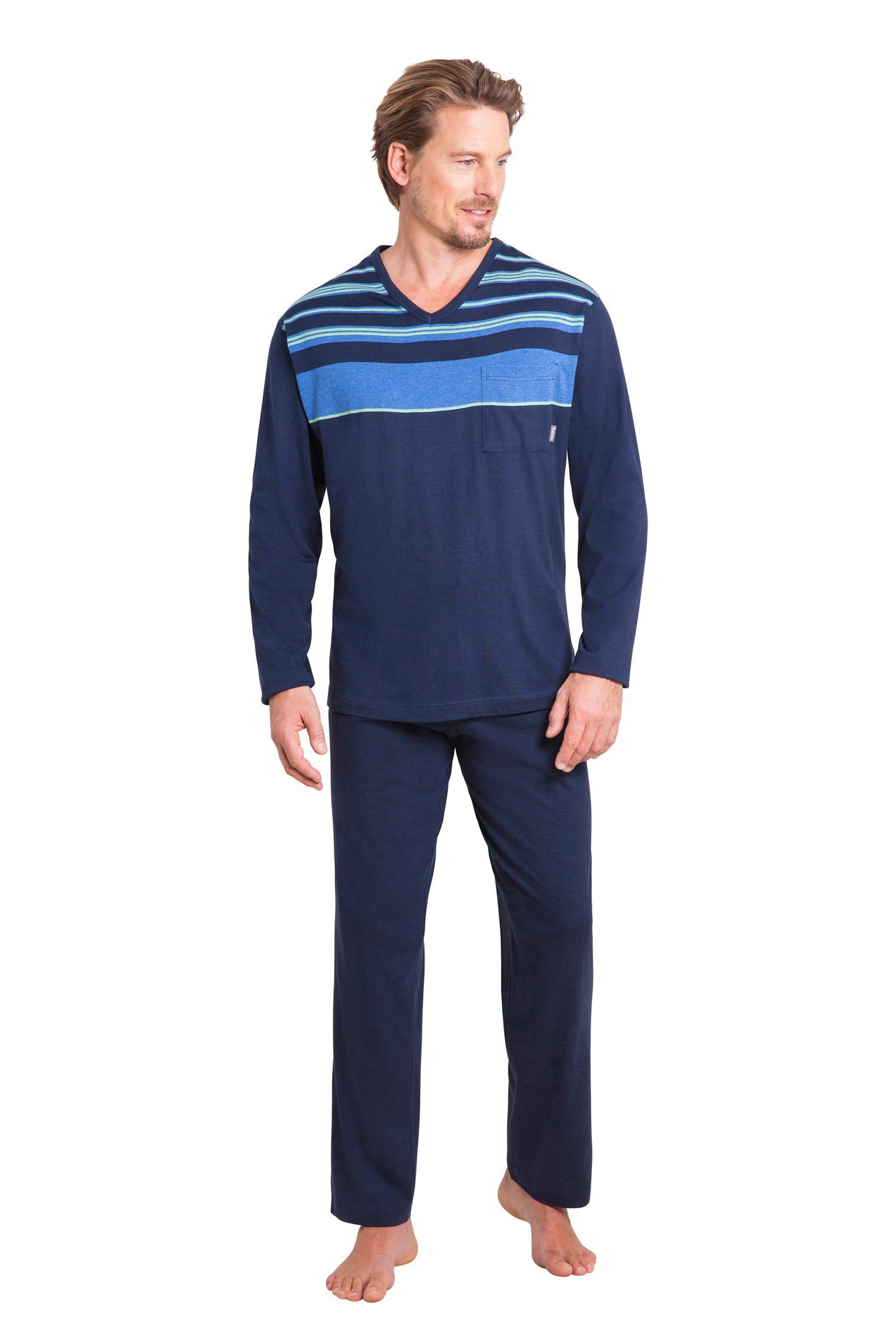 Homewear, Pijama M. Larga, 109924, MARINO   Zoom