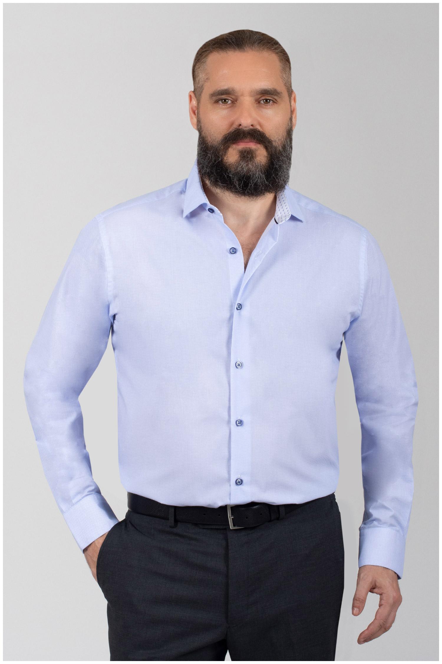 Camisas, Vestir Manga Larga, 110052, CELESTE | Zoom