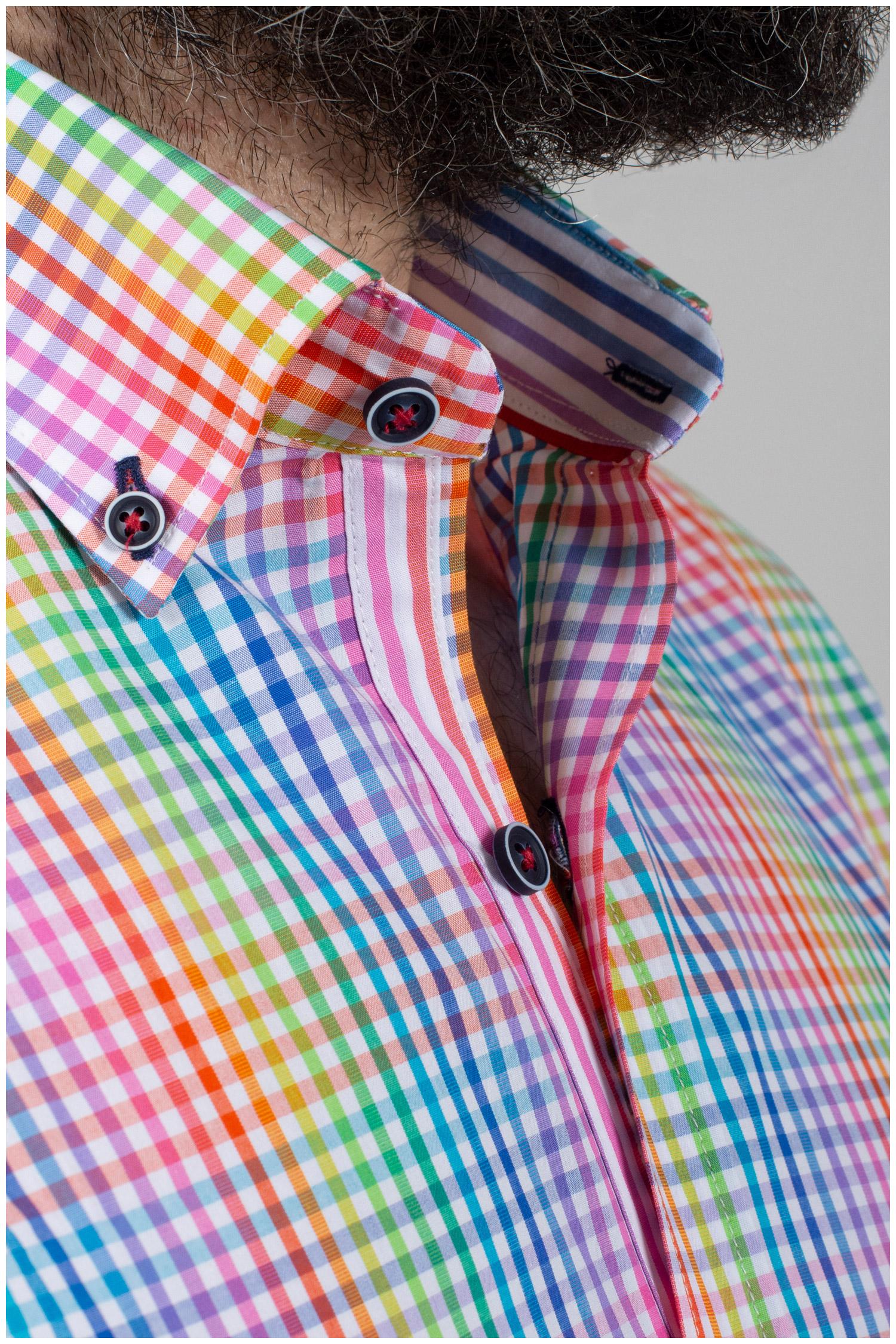 Camisas, Sport Manga Corta, 110057, ROJO | Zoom