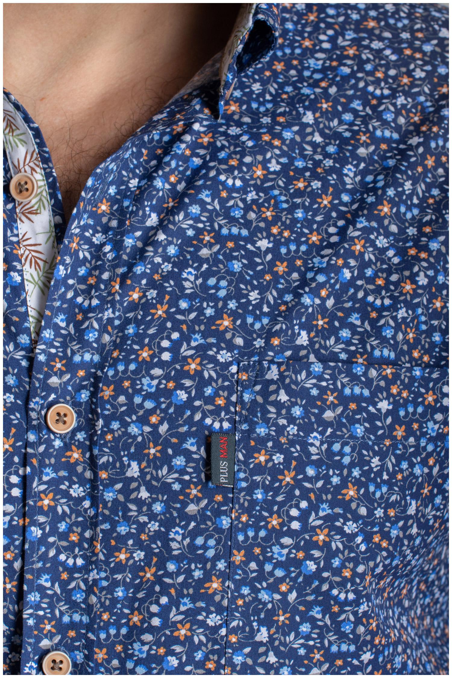 Camisas, Sport Manga Larga, 110063, MARINO | Zoom