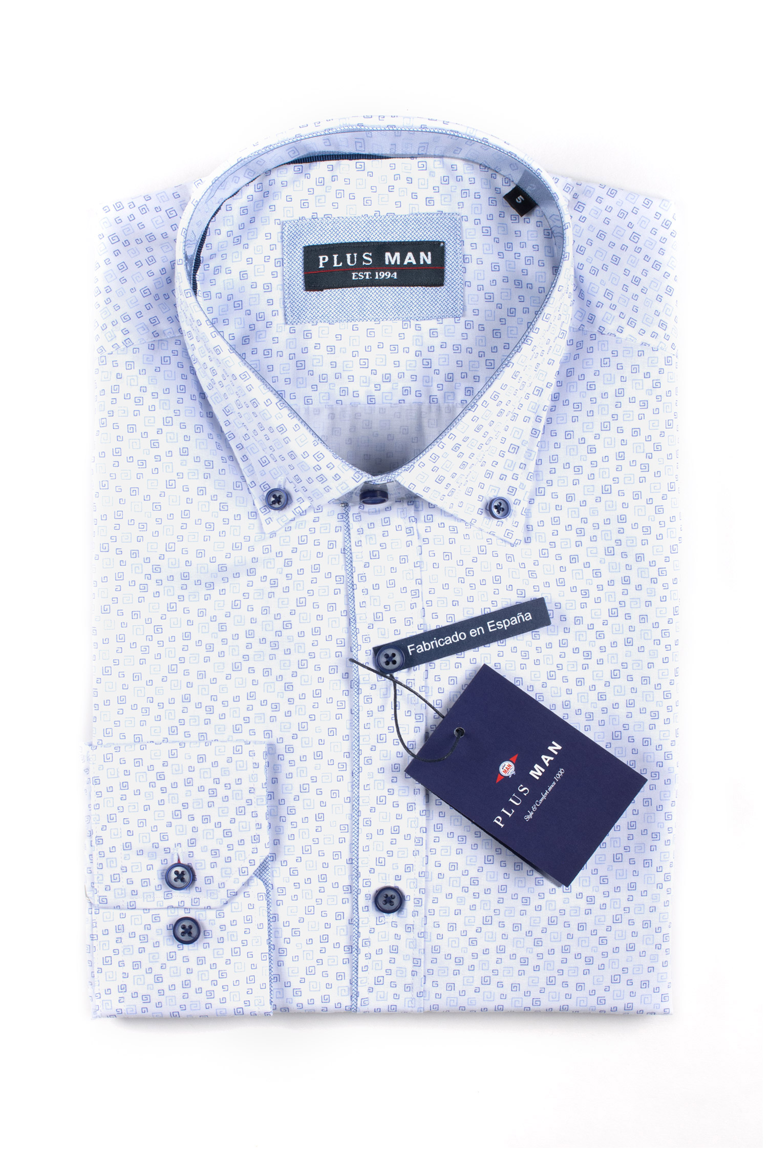 Camisas, Sport Manga Larga, 110064, CELESTE | Zoom