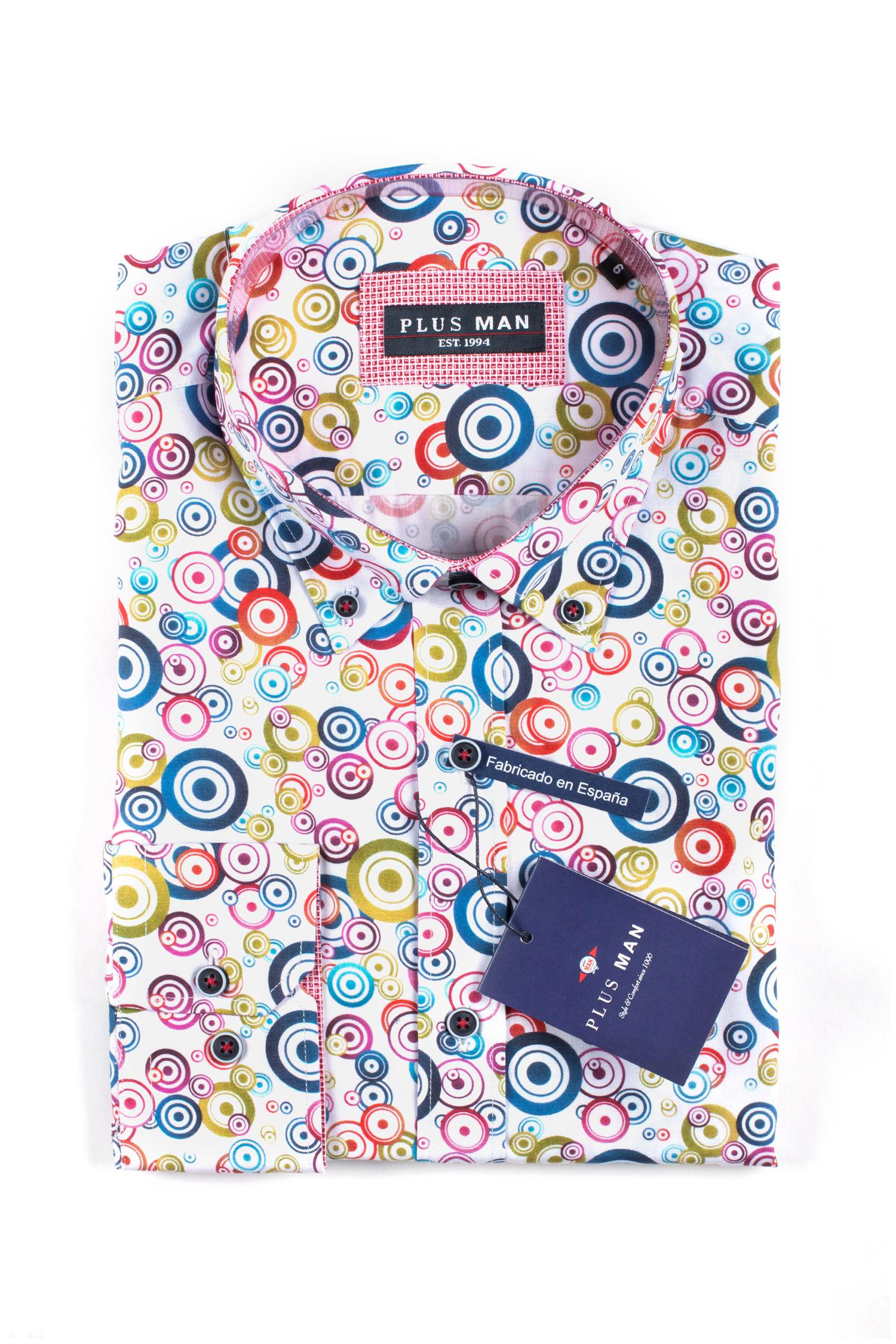 Camisas, Sport Manga Larga, 110065, MARINO   Zoom