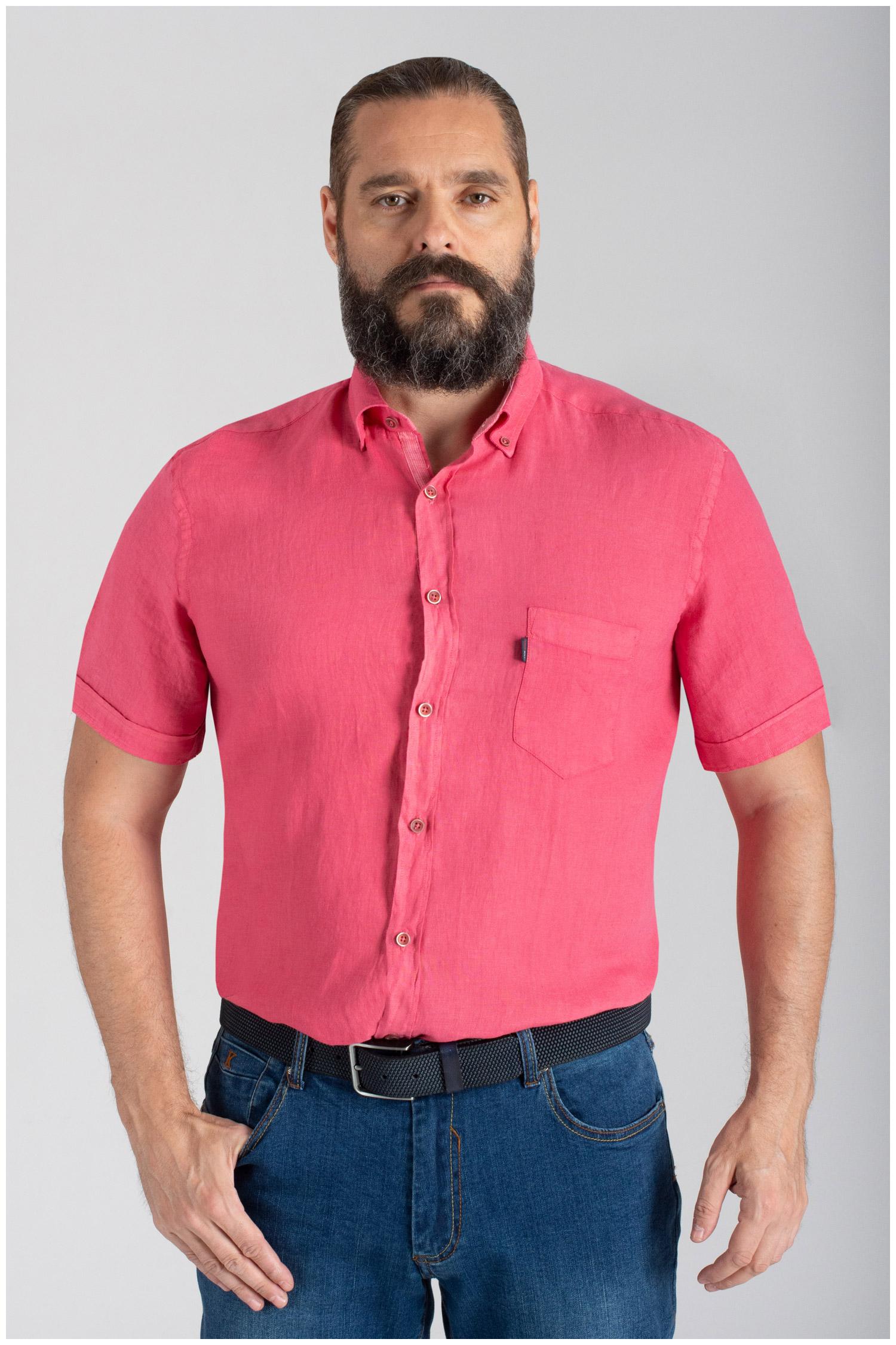 Camisas, Sport Manga Corta, 110073, CORAL | Zoom