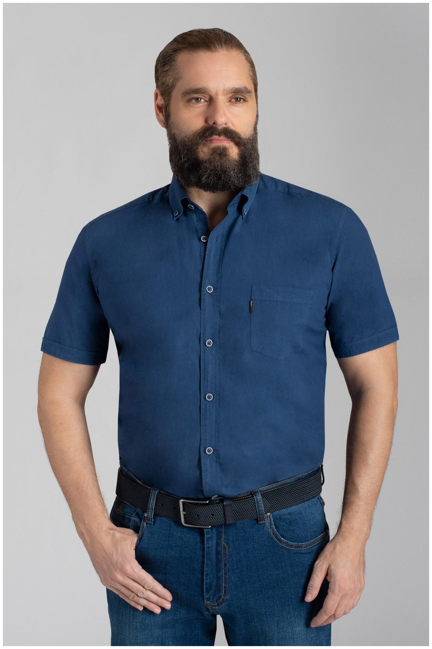 Camisas, Sport Manga Corta, 110074, MARINO | Zoom