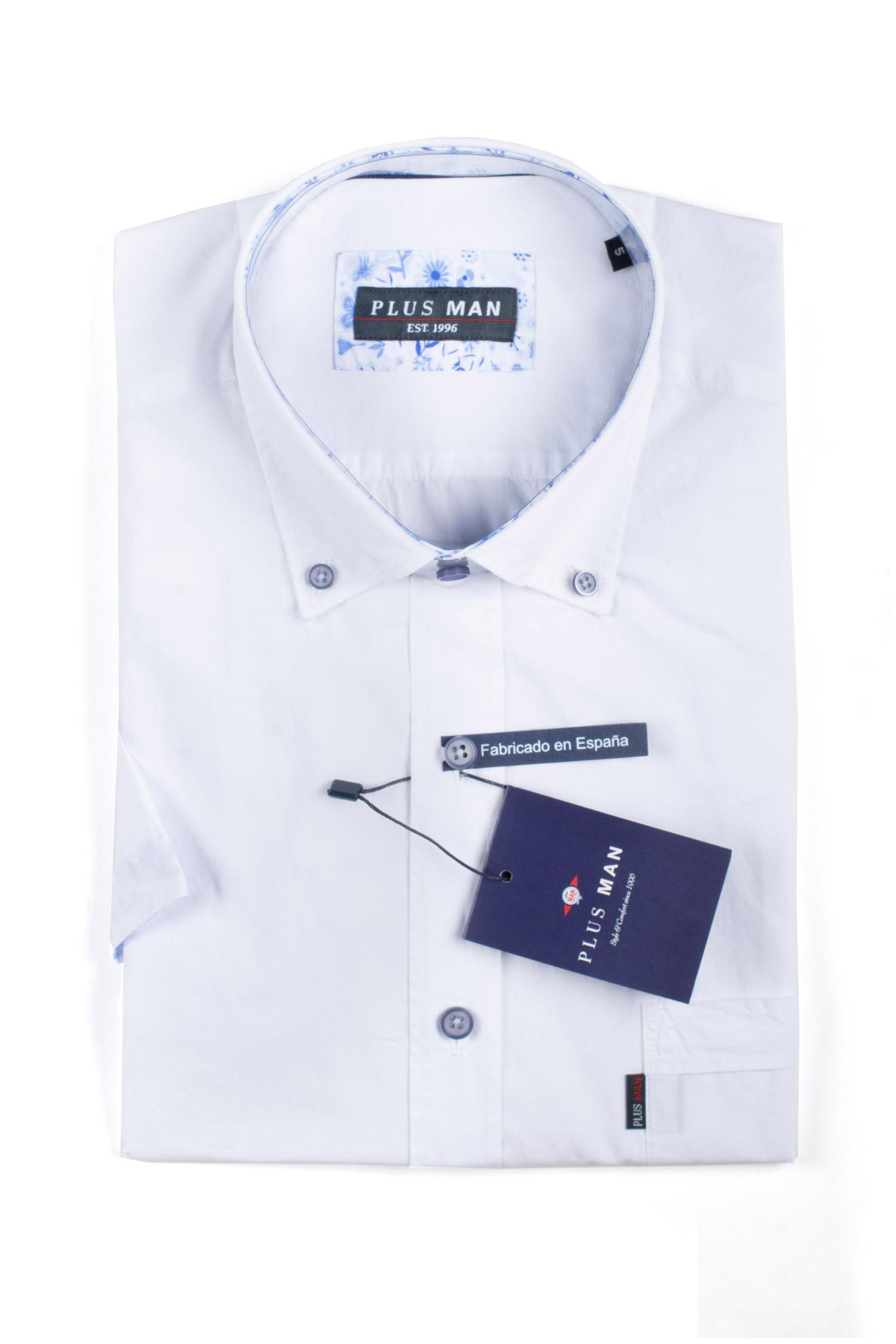 Camisas, Sport Manga Corta, 110074, BLANCO | Zoom