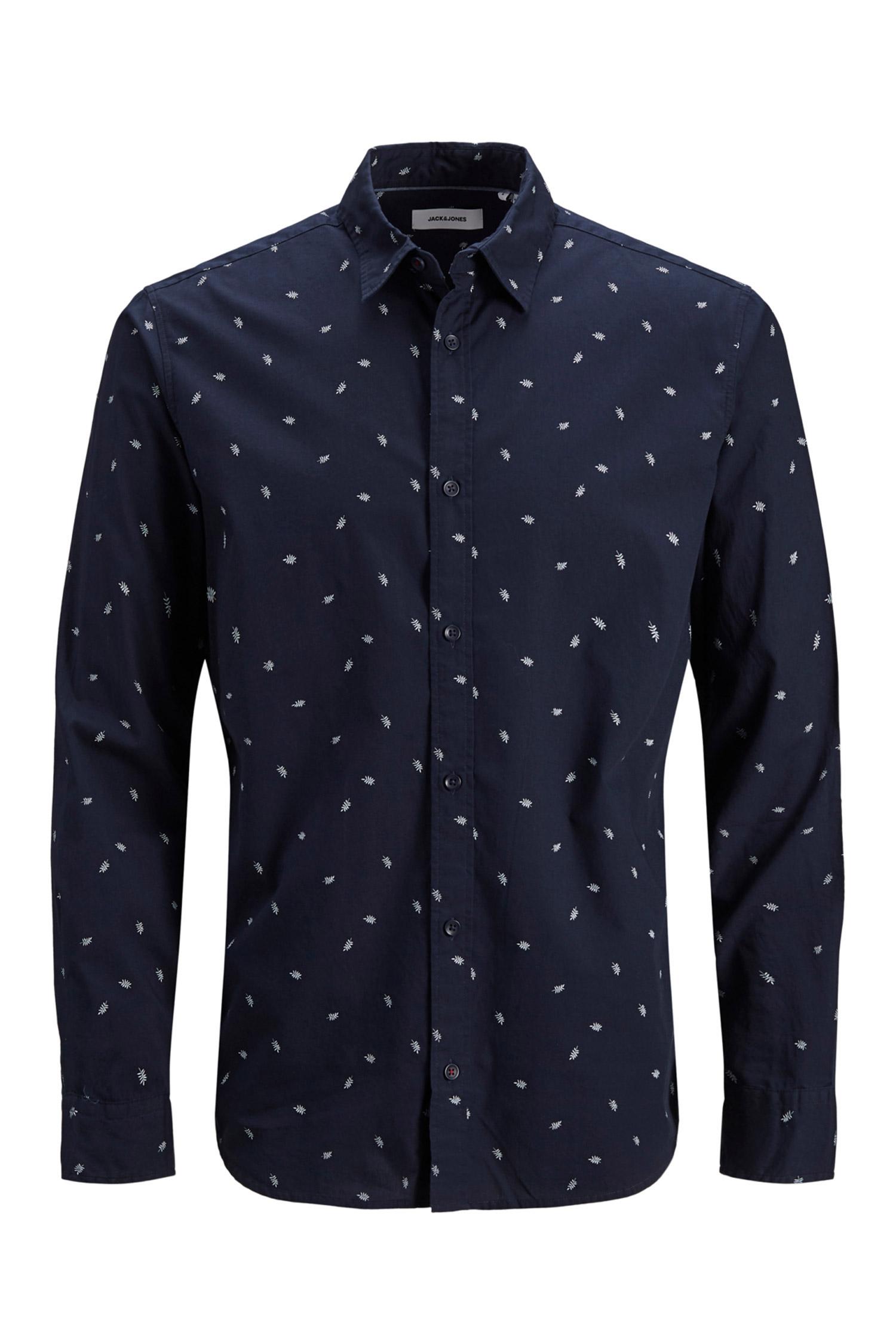 Camisas, Sport Manga Larga, 110130, MARINO | Zoom