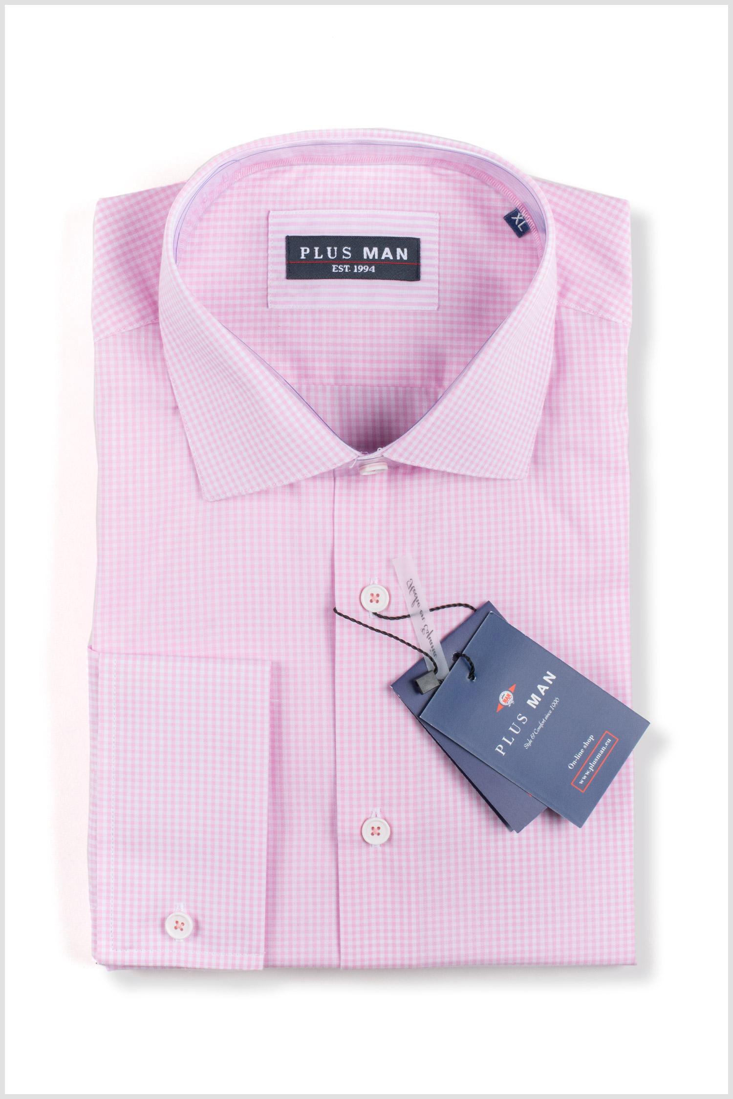 Camisas, Vestir Manga Larga, 110153, ROSA | Zoom
