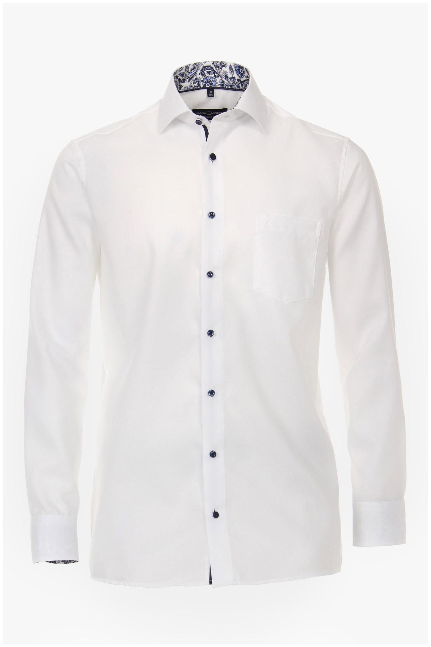 Camisas, Vestir Manga Larga, 110243, BLANCO | Zoom