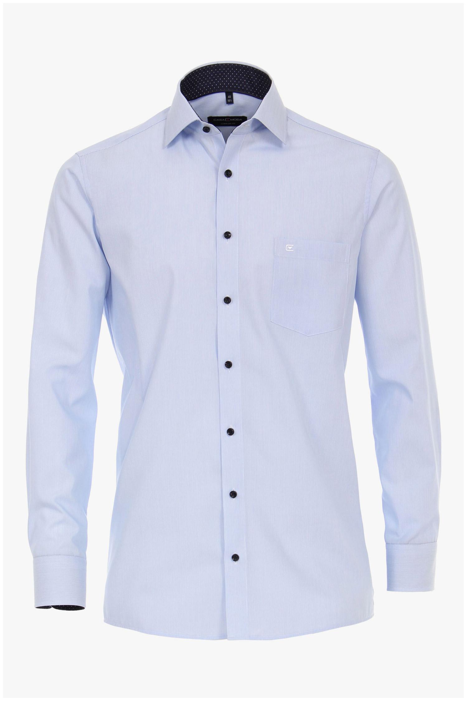 Camisas, Vestir Manga Larga, 110244, CELESTE | Zoom