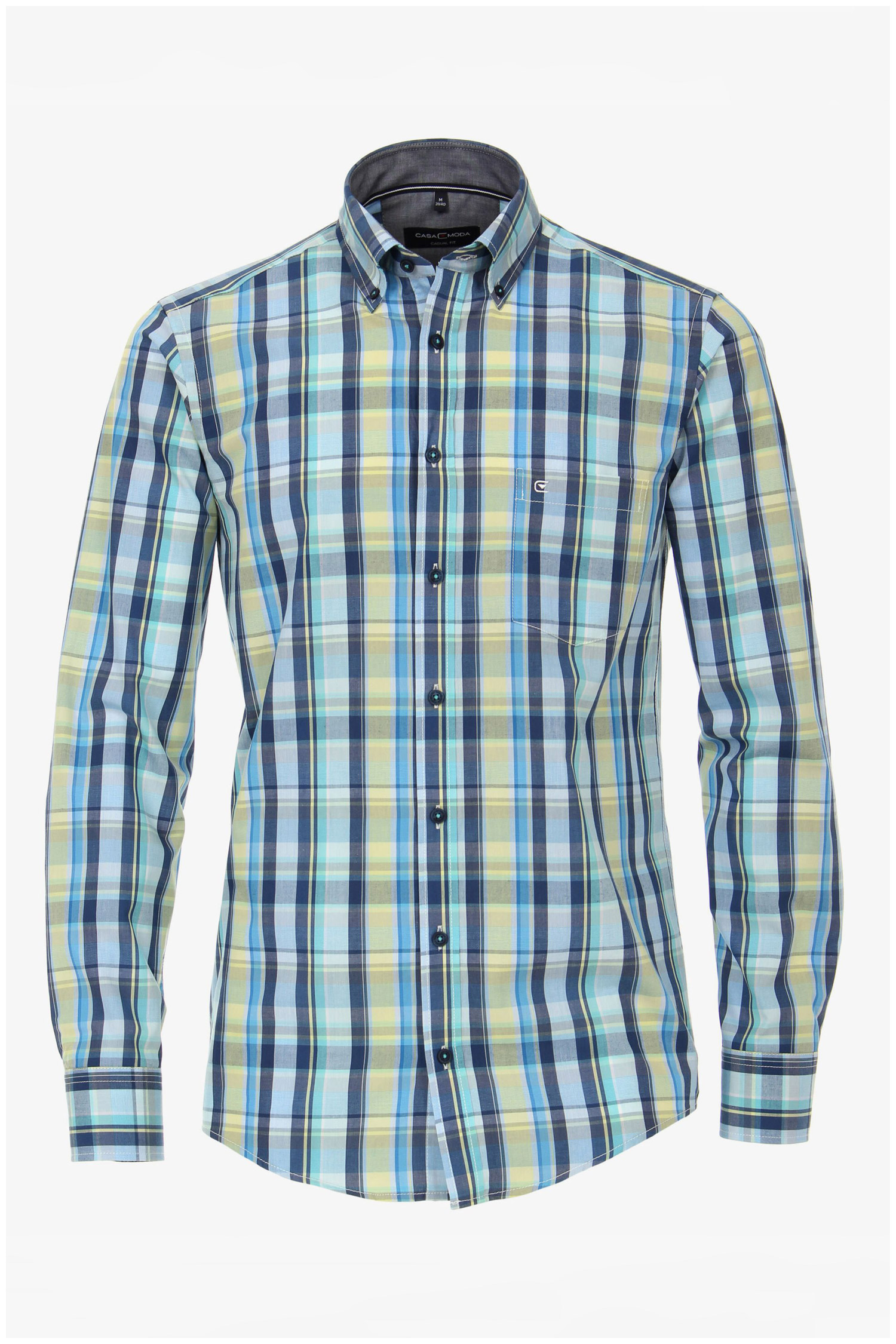 Camisas, Sport Manga Larga, 110298, MARINO | Zoom