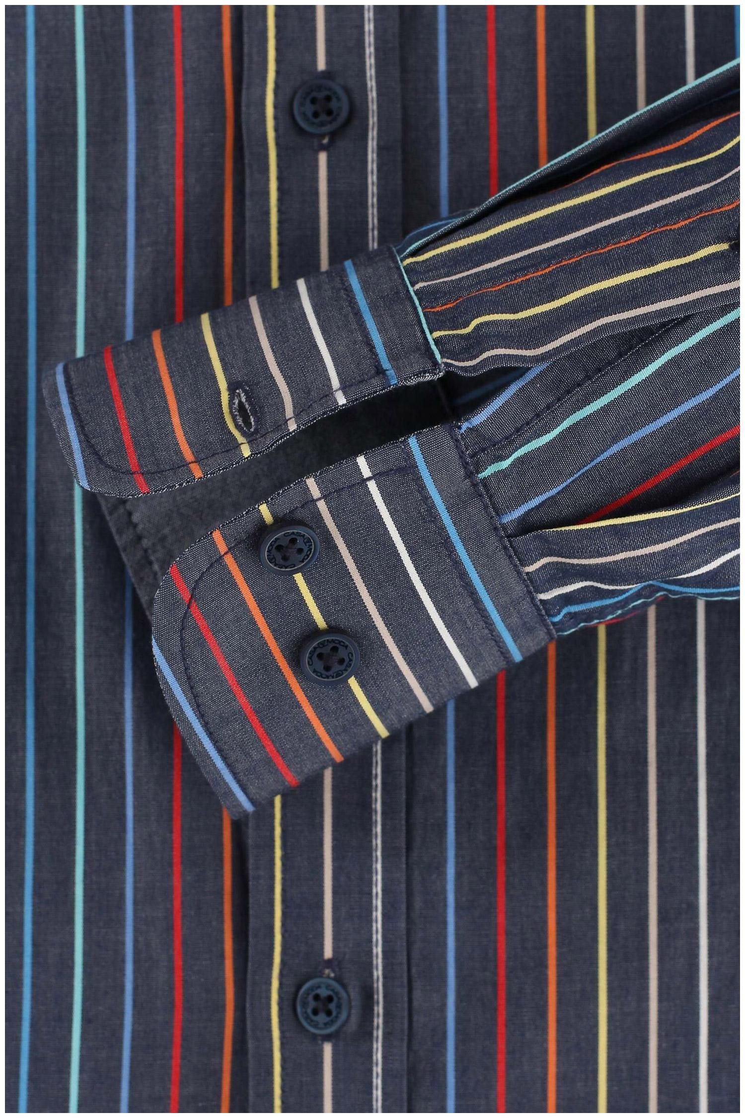 Camisas, Sport Manga Larga, 110300, MARINO | Zoom