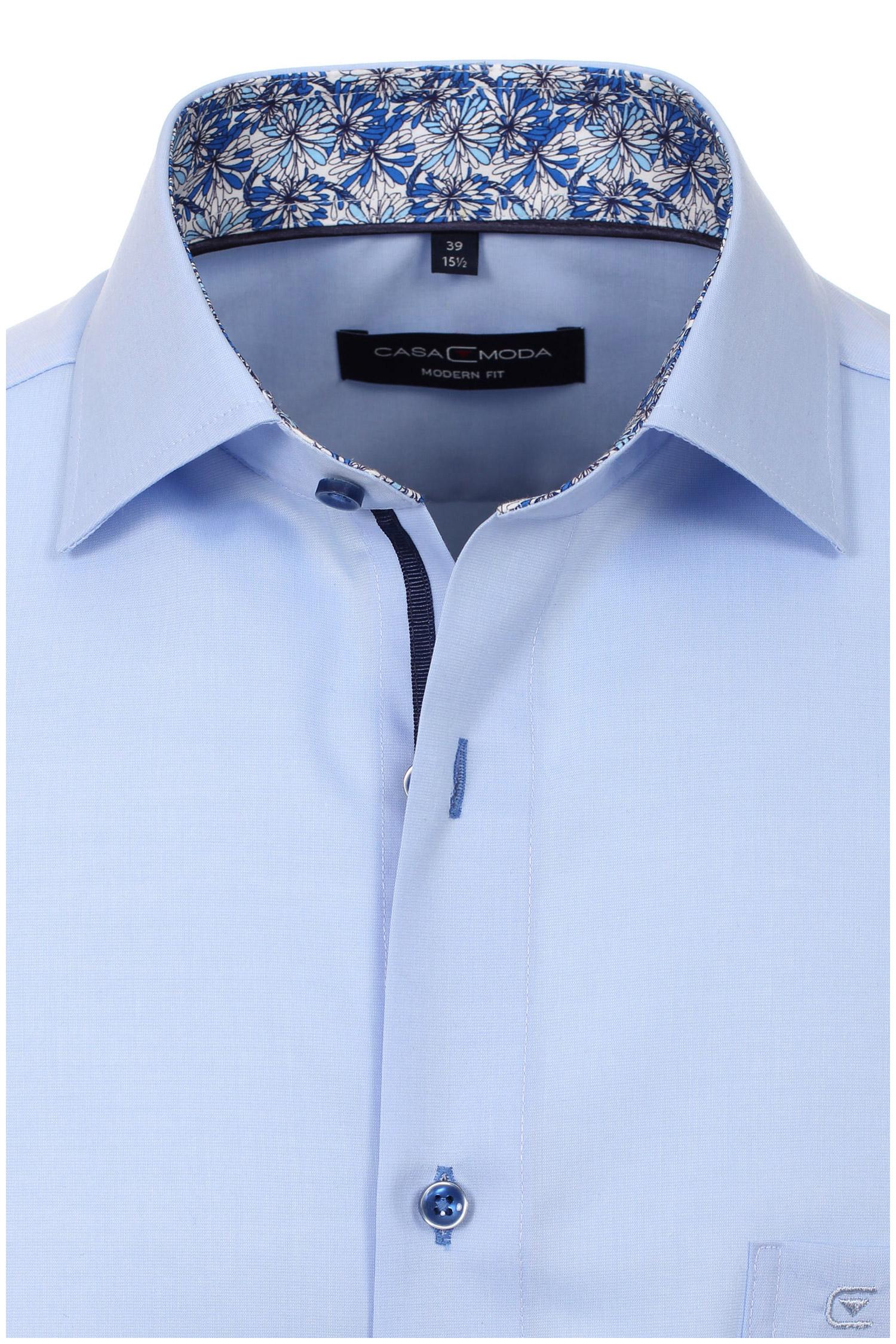 Camisas, Vestir Manga Larga, 110306, CELESTE | Zoom