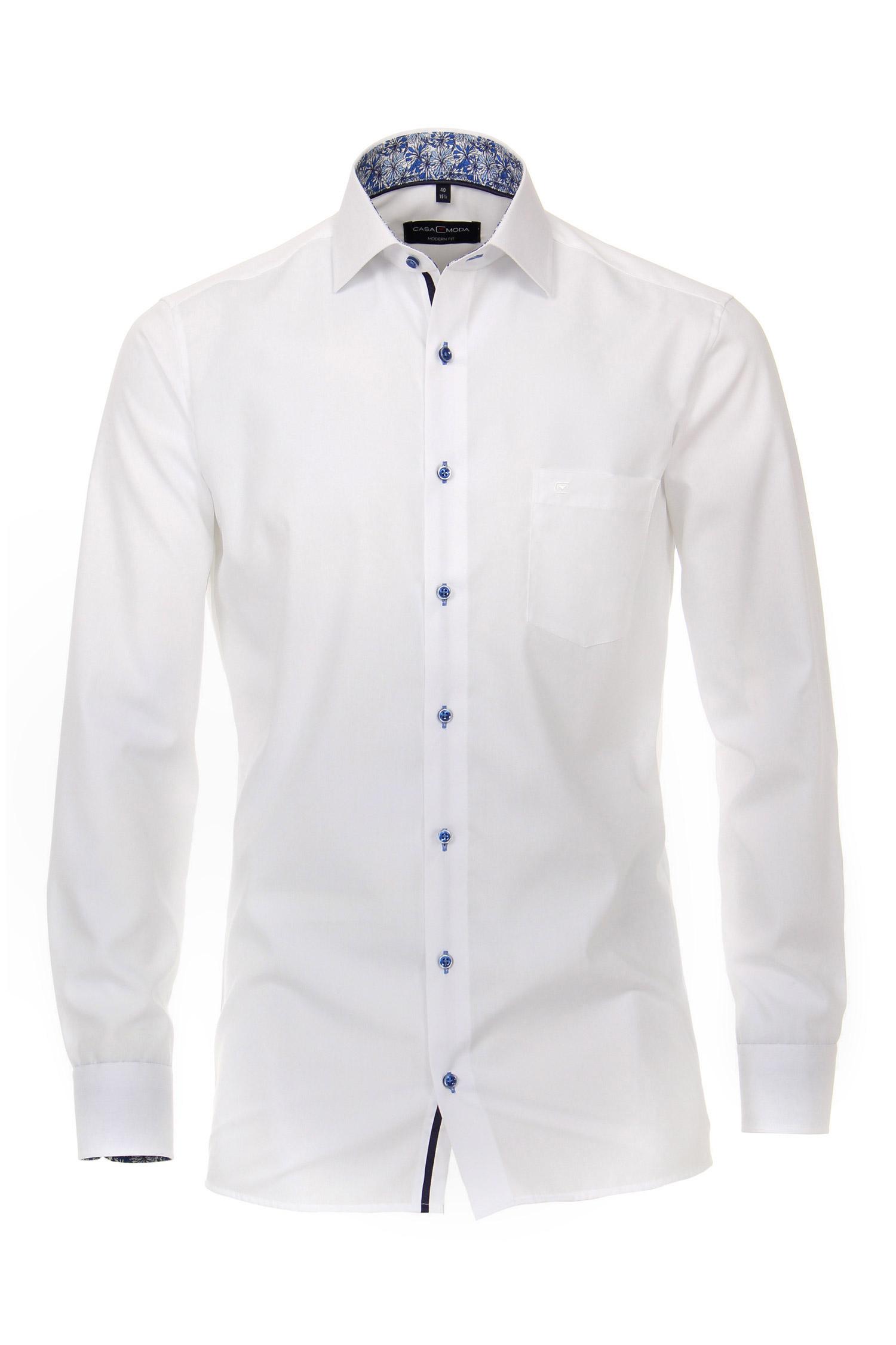 Camisas, Vestir Manga Larga, 110306, BLANCO | Zoom