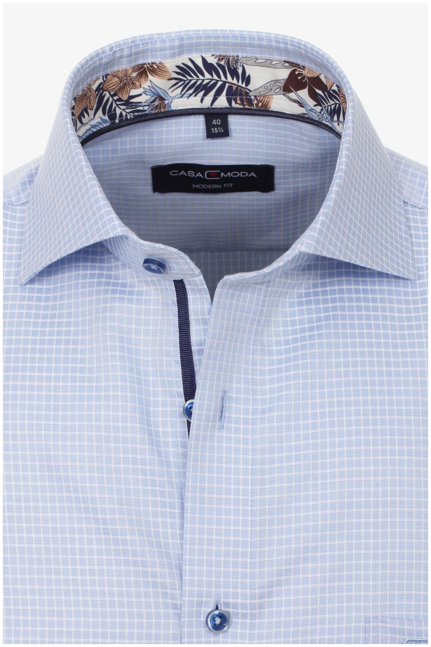 Camisas, Vestir Manga Larga, 110307, CELESTE | Zoom