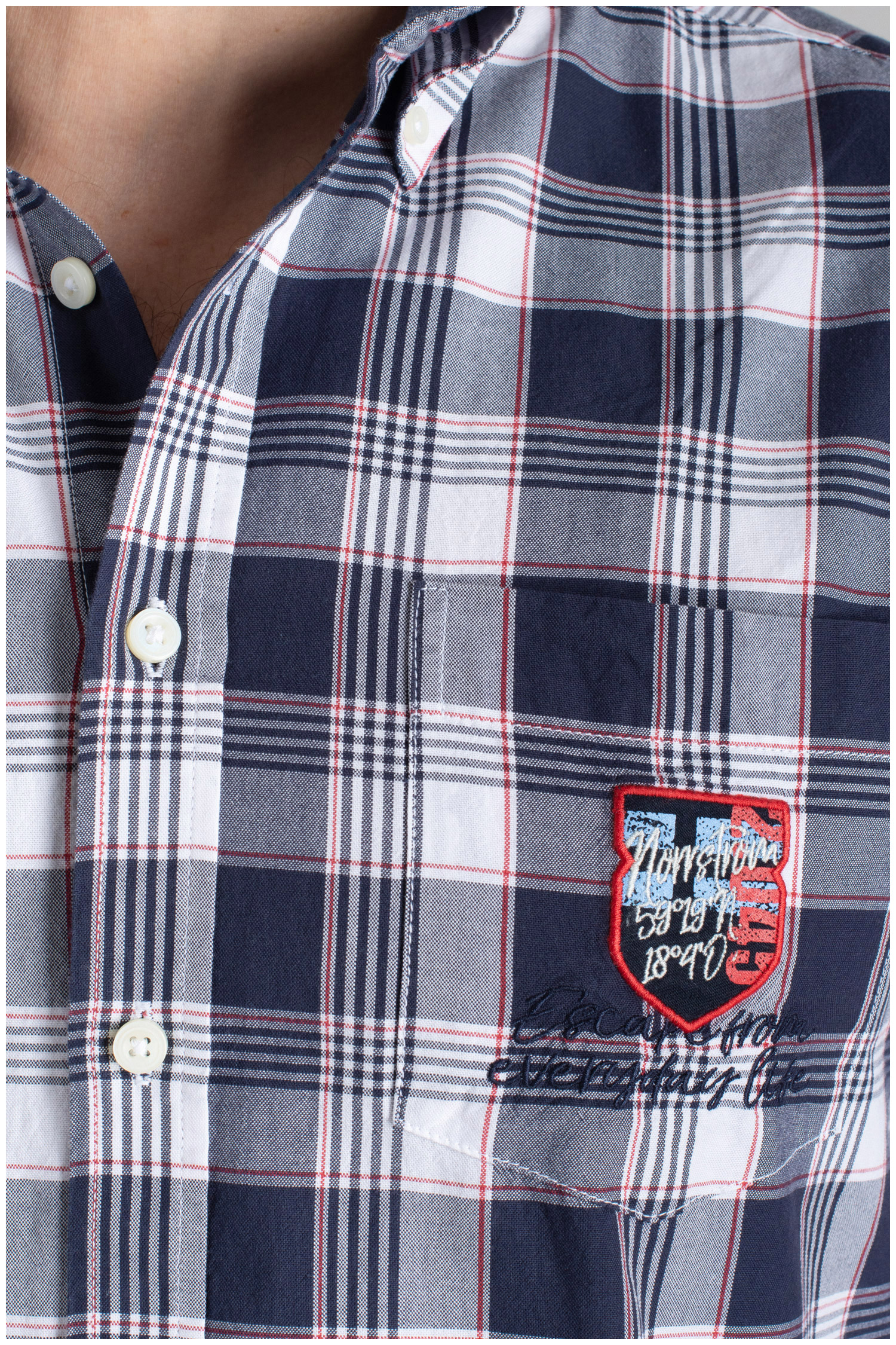 Camisas, Sport Manga Corta, 110345, MARINO | Zoom