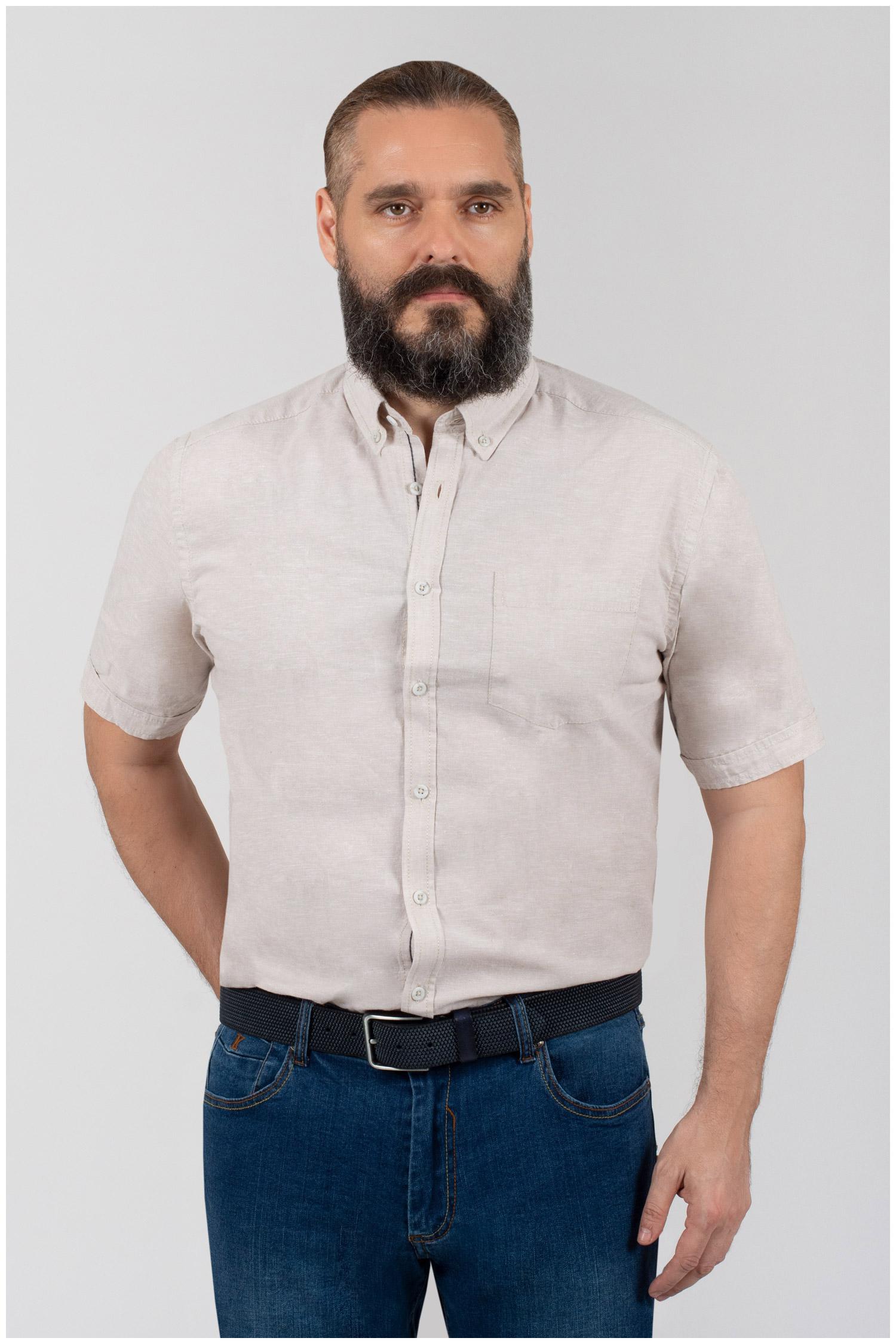 Camisas, Sport Manga Corta, 110348, NATURAL | Zoom