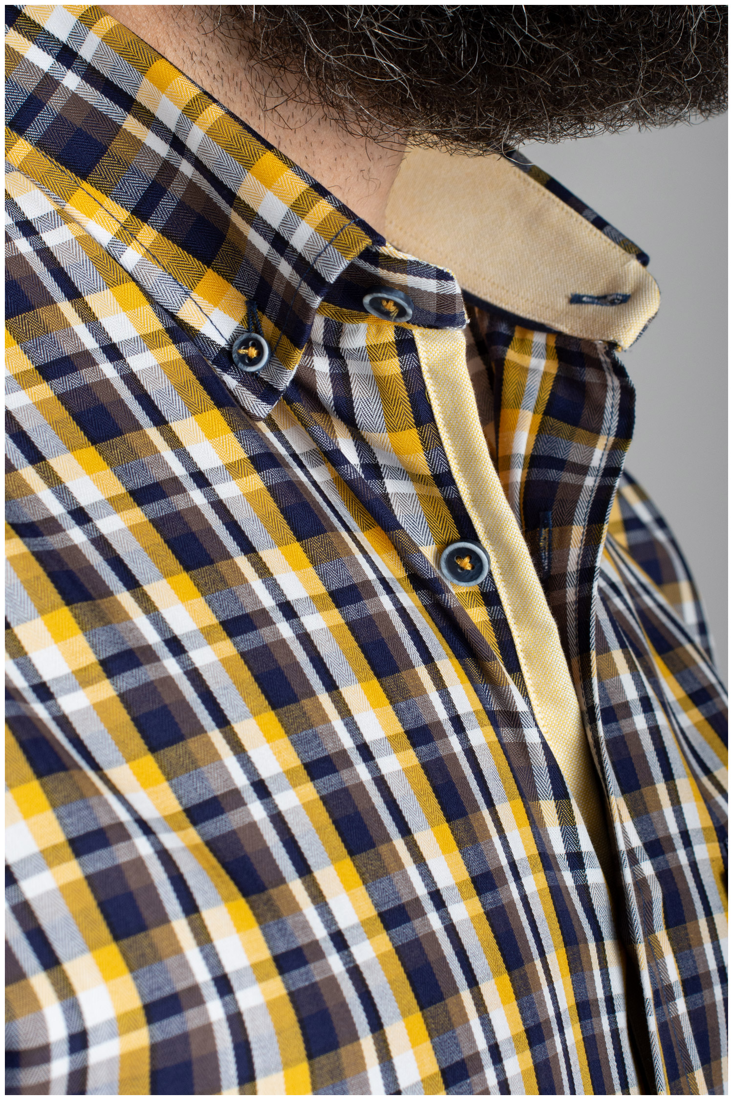 Camisas, Sport Manga Larga, 110420, MOSTAZA   Zoom