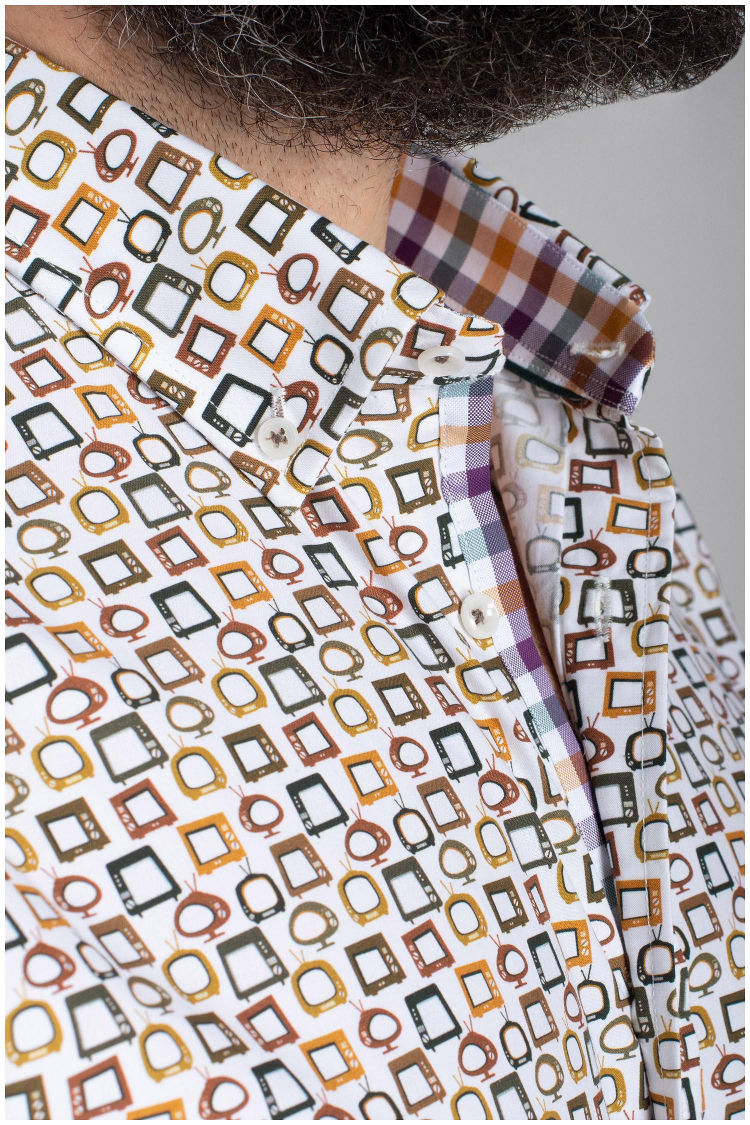 Camisas, Sport Manga Larga, 110426, BLANCO | Zoom