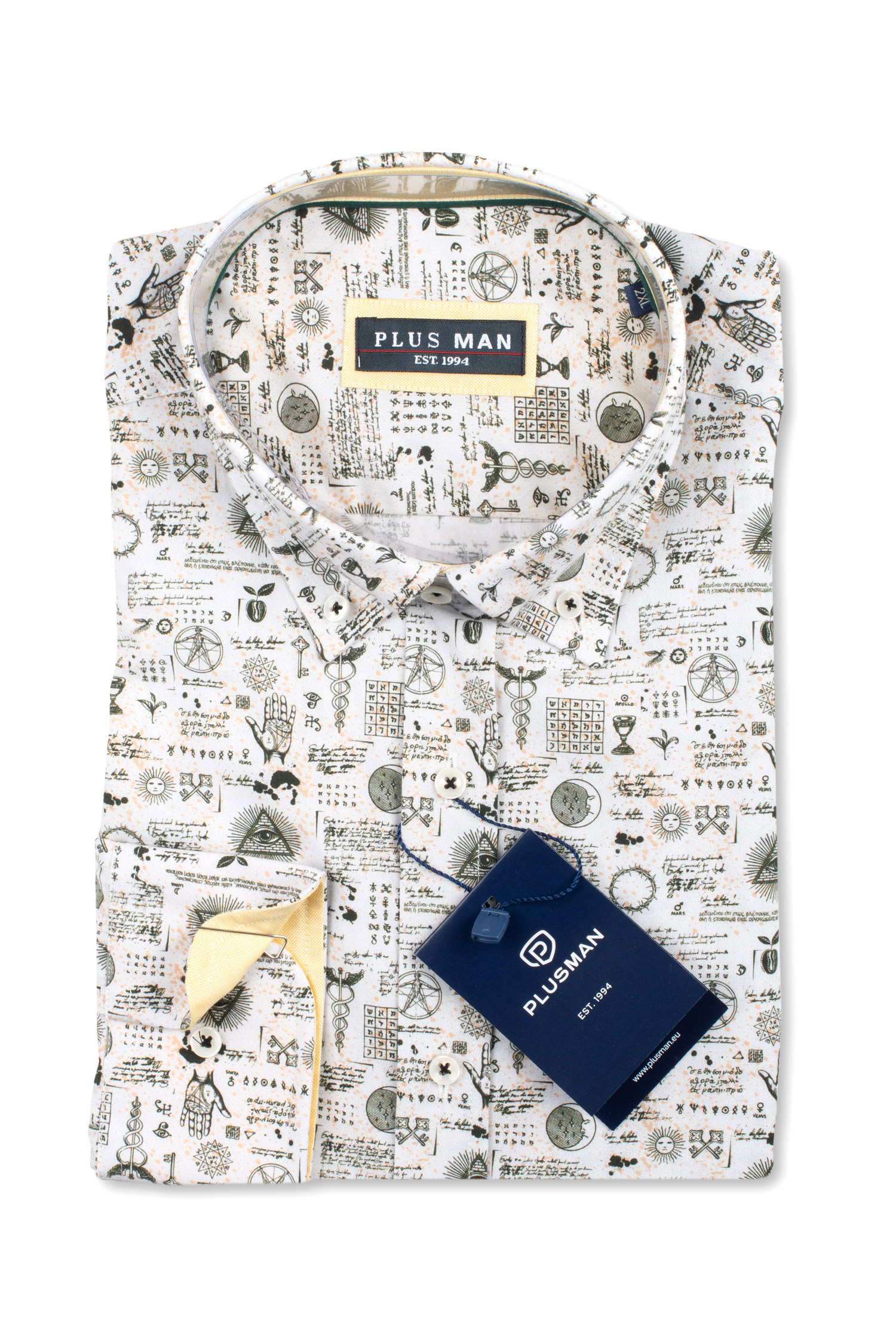 Camisas, Sport Manga Larga, 110427, BLANCO | Zoom
