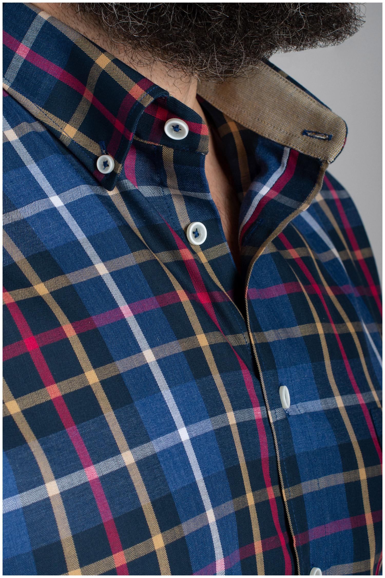 Camisas, Sport Manga Larga, 110474, MARINO | Zoom