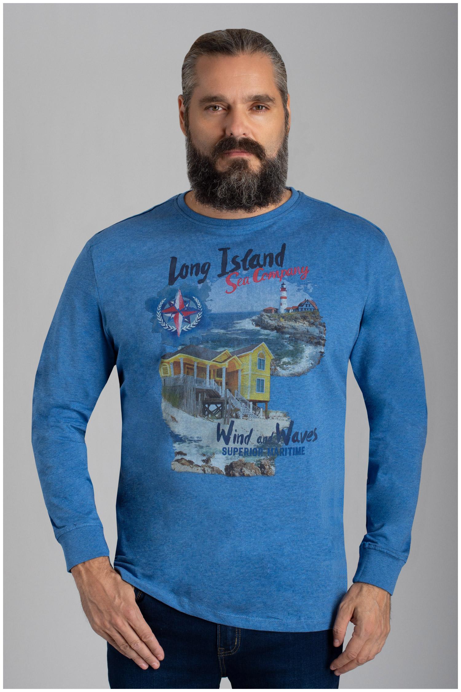 Sport, Camisetas M. Larga, 110486, INDIGO | Zoom