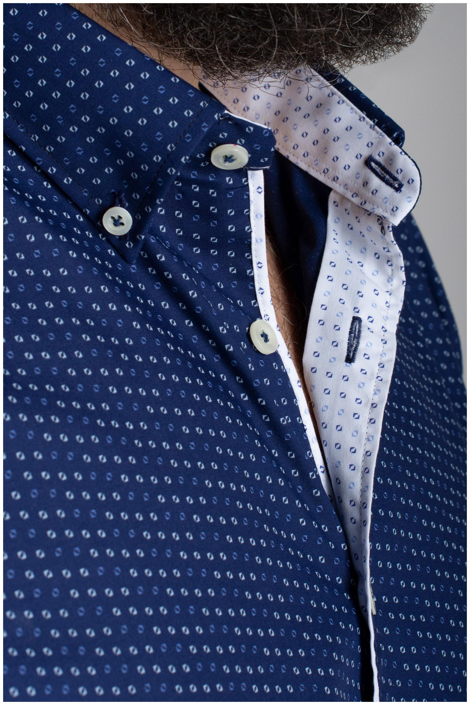 Camisas, Sport Manga Larga, 110559, MARINO | Zoom