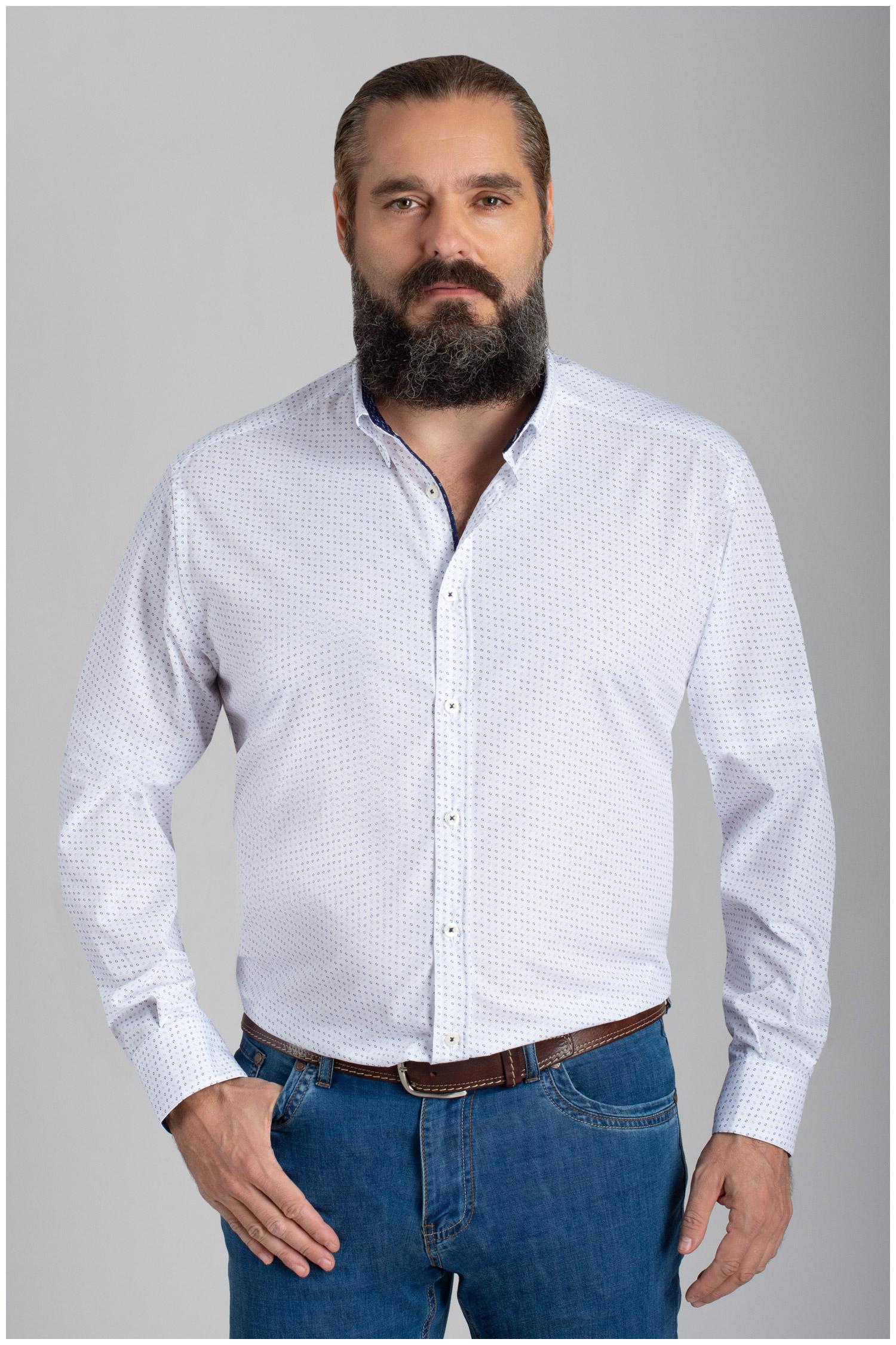Camisas, Vestir Manga Larga, 110560, CELESTE | Zoom