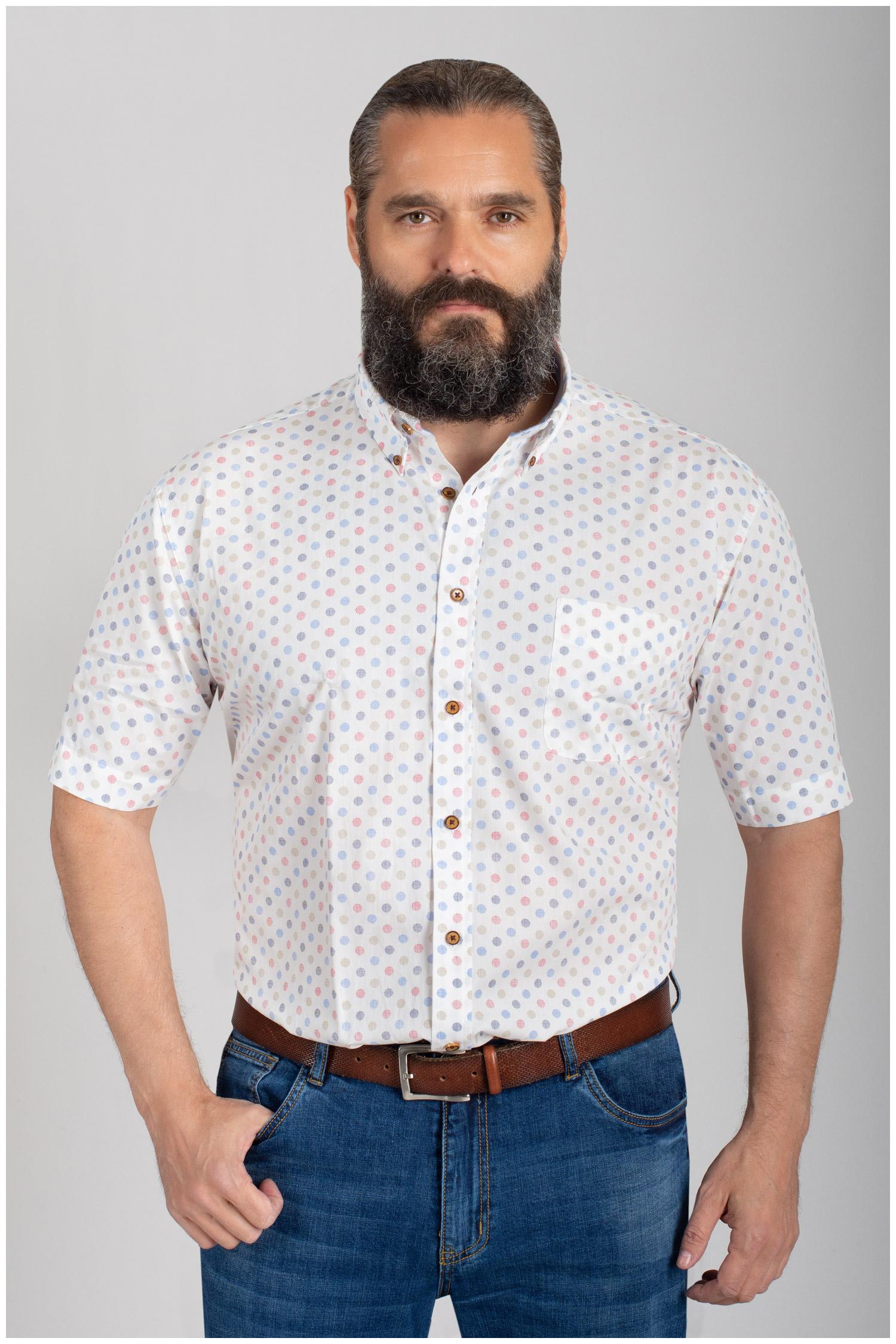 Camisas, Sport Manga Corta, 110573, ROJO | Zoom