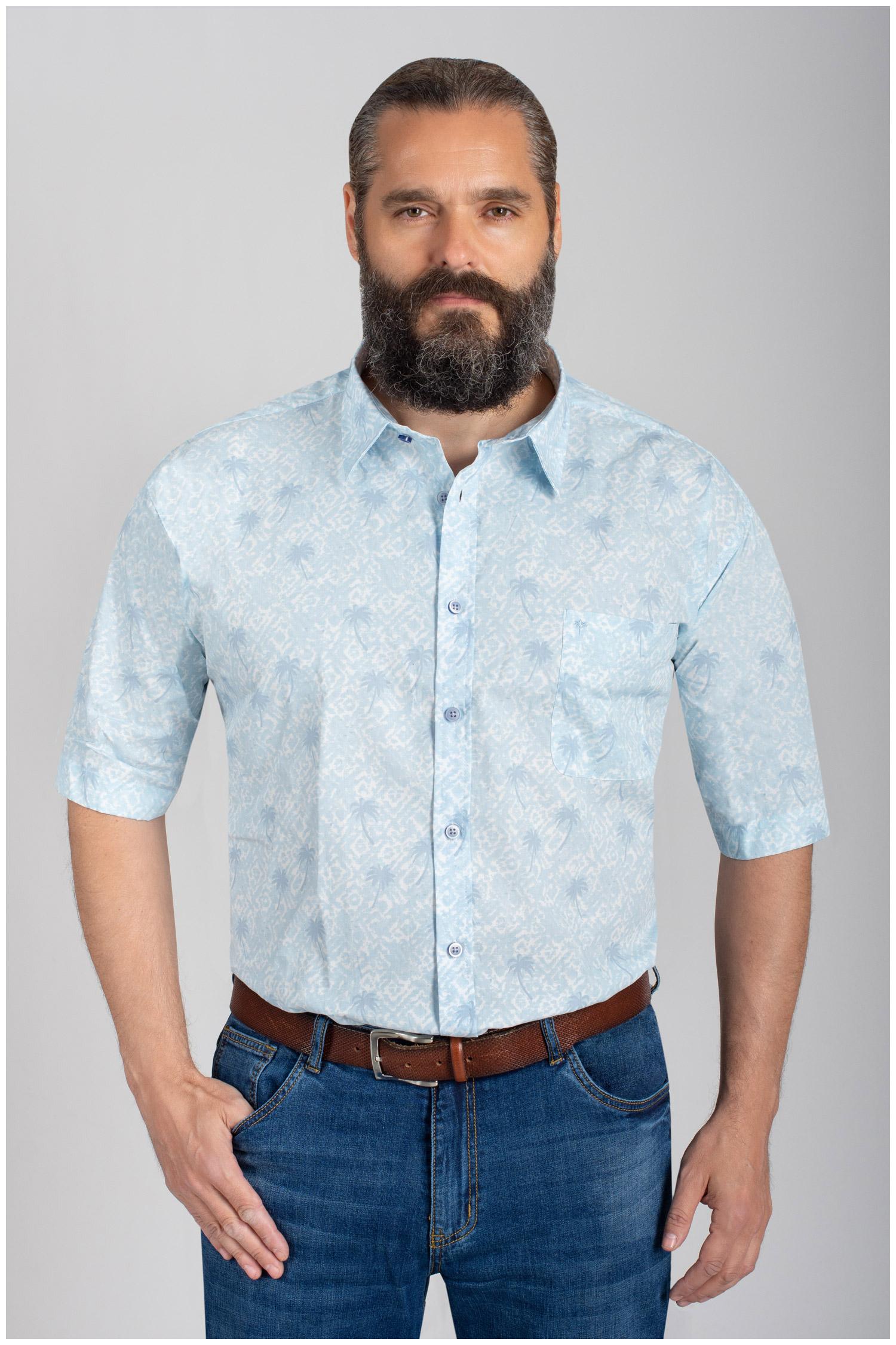 Camisas, Sport Manga Corta, 110575, AZUL | Zoom