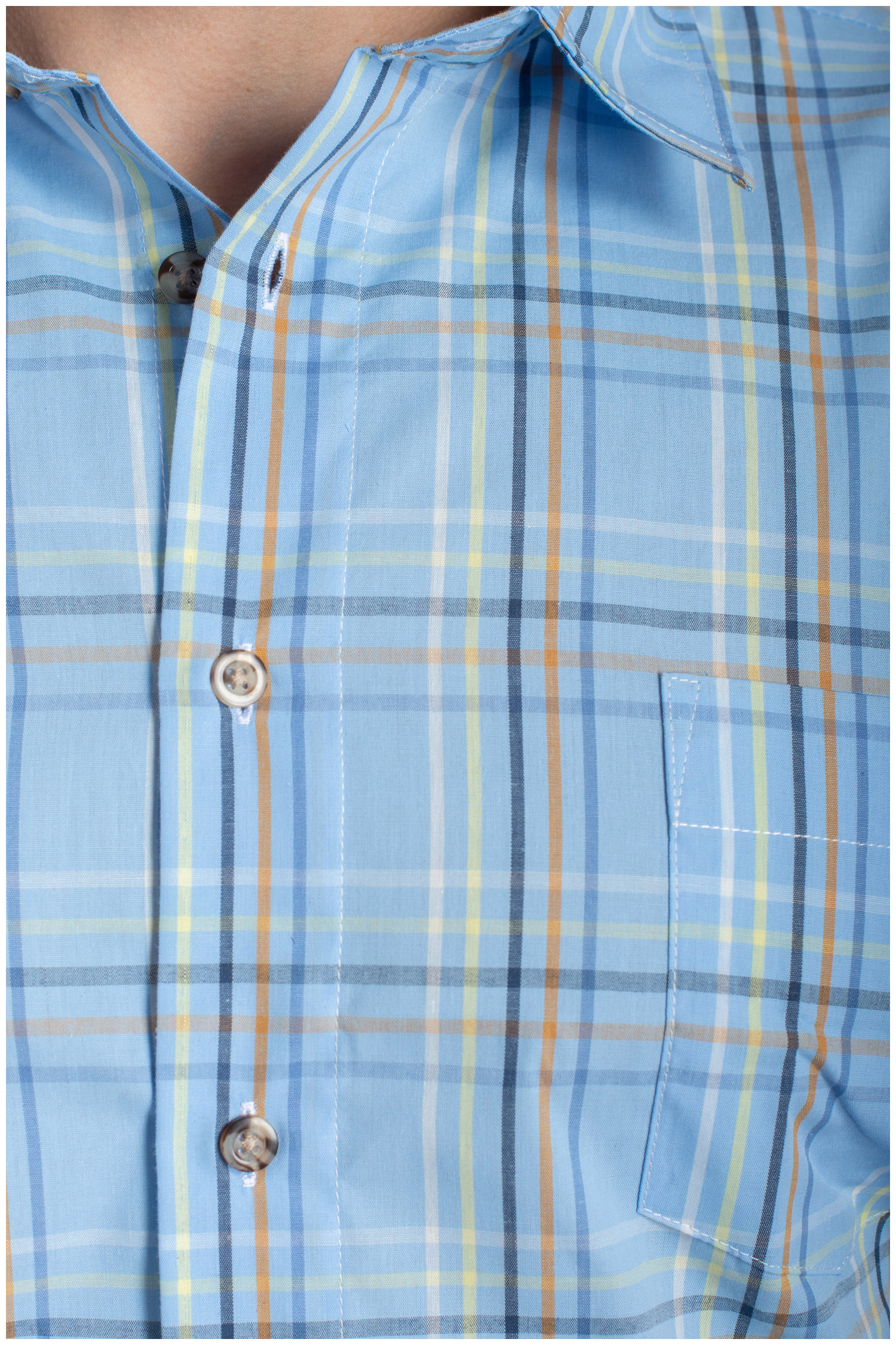 Camisas, Sport Manga Corta, 110576, AZUL | Zoom
