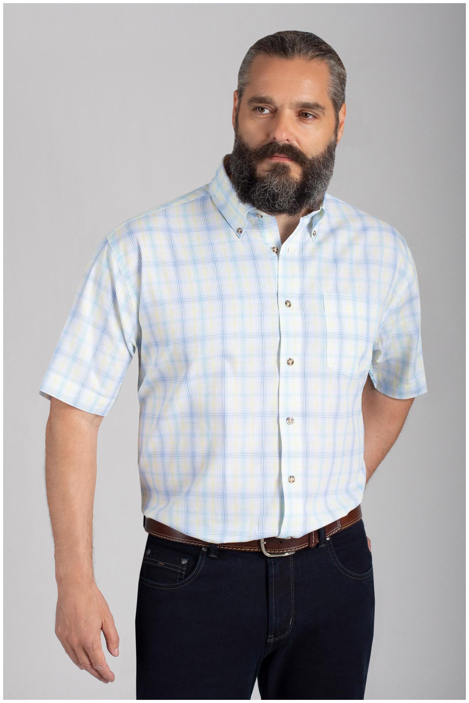 Camisas, Sport Manga Corta, 110577, AMARILLO | Zoom