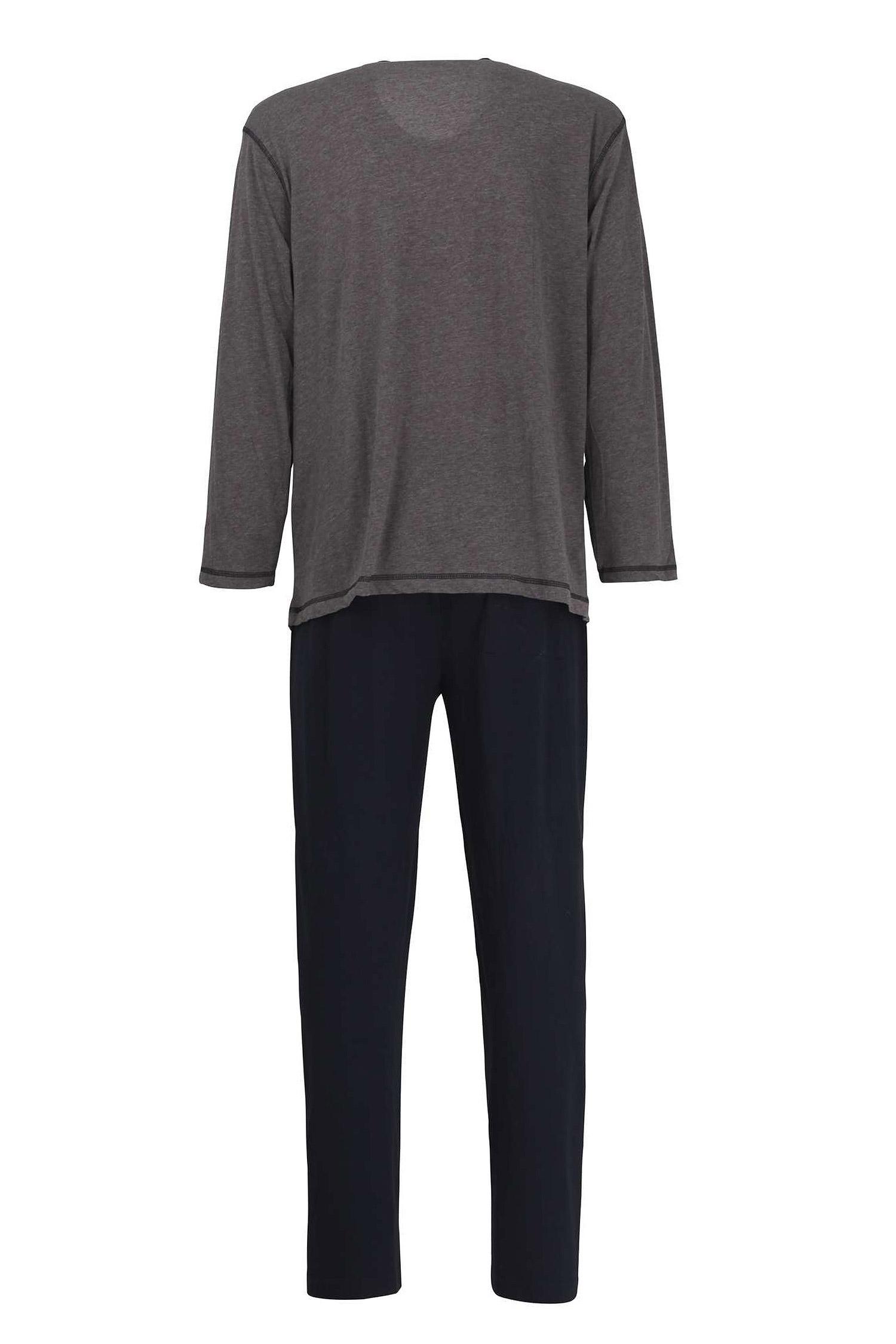 Homewear, Pijama M. Larga, 110578, GRIS MEDIO | Zoom