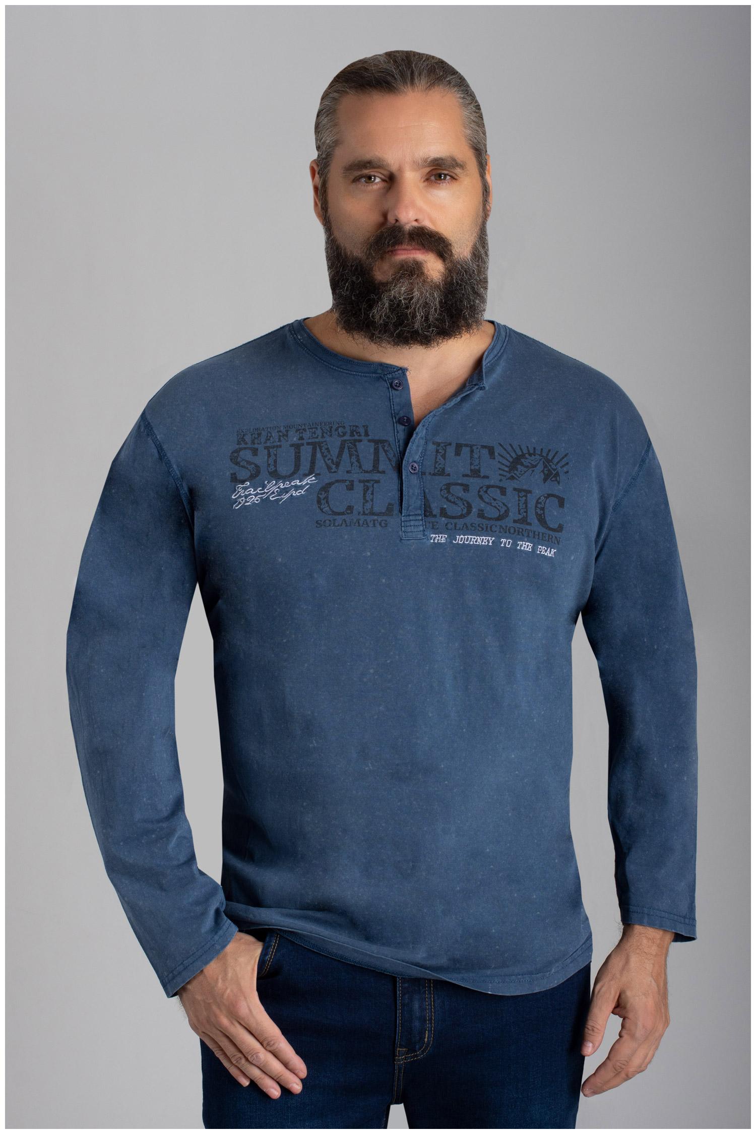 Sport, Camisetas M. Larga, 110590, AZUL | Zoom