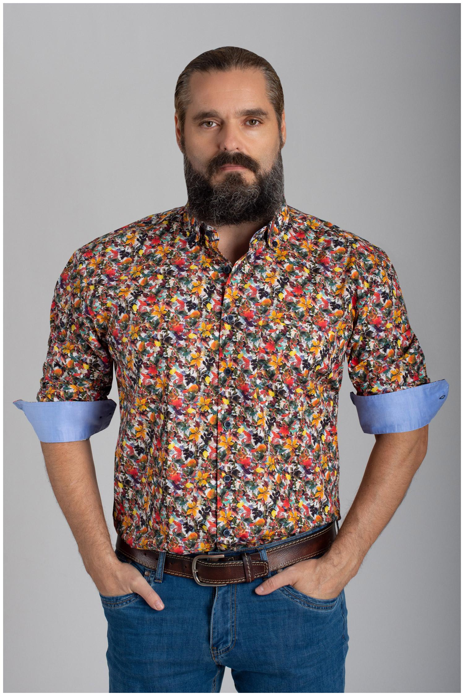 Camisas, Sport Manga Larga, 110637, GRANATE | Zoom