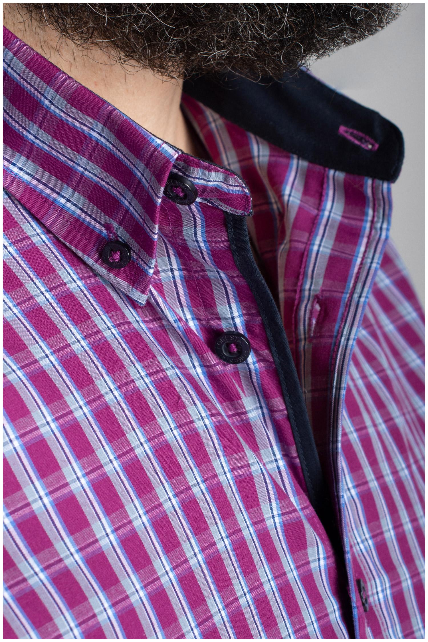 Camisas, Sport Manga Larga, 110820, GRANATE | Zoom