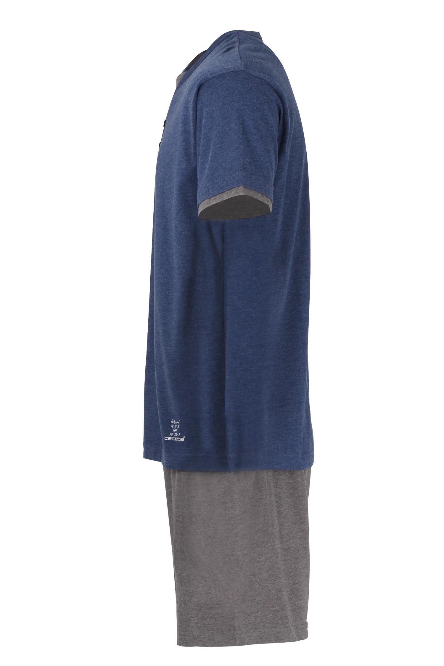Homewear, Pijama M. Corta, 110835, MARINO | Zoom