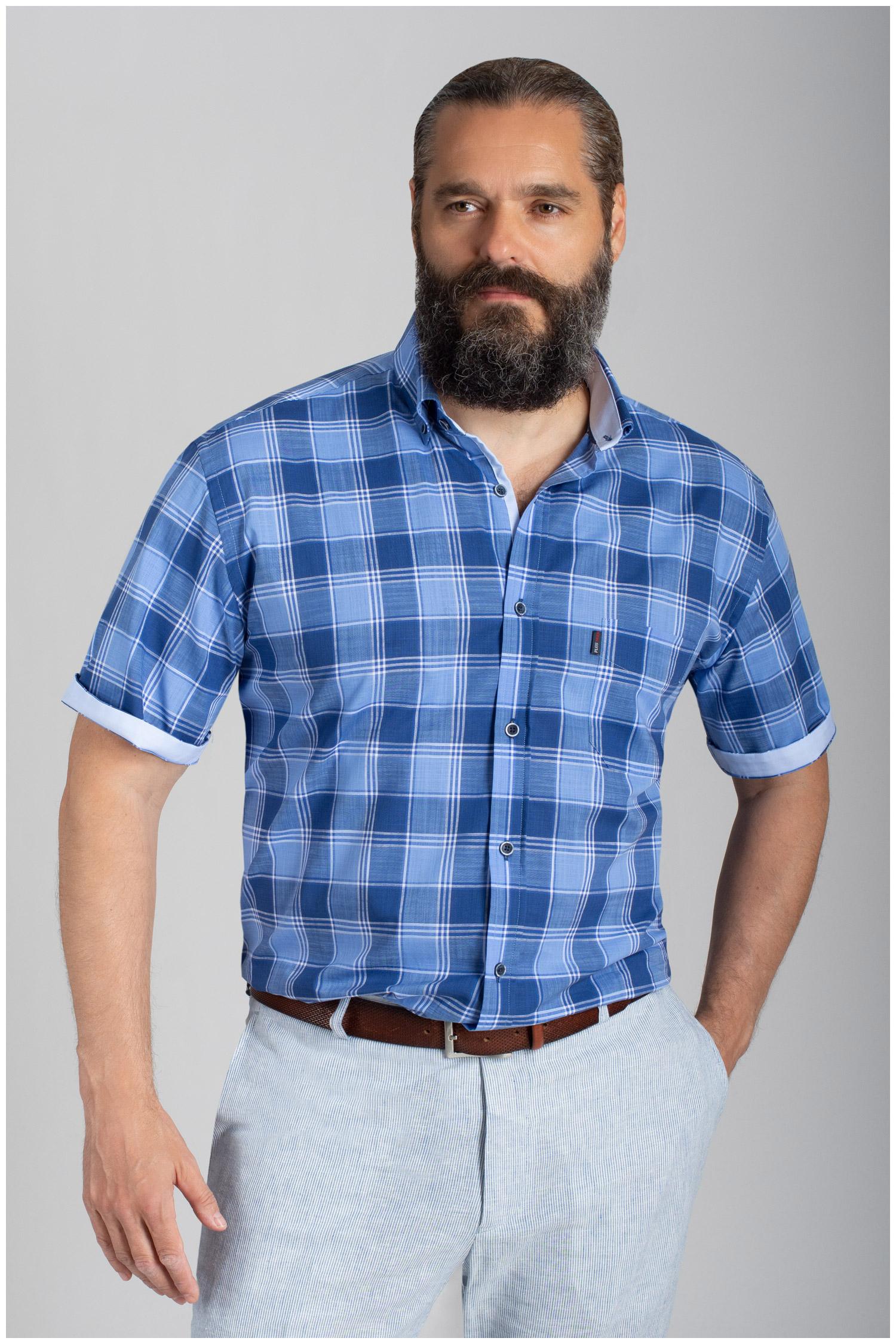 Camisas, Sport Manga Corta, 110851, MARINO | Zoom