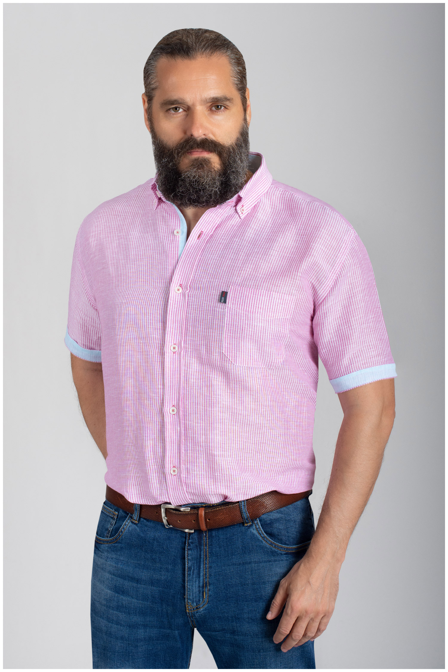 Camisas, Sport Manga Corta, 110852, CORAL | Zoom