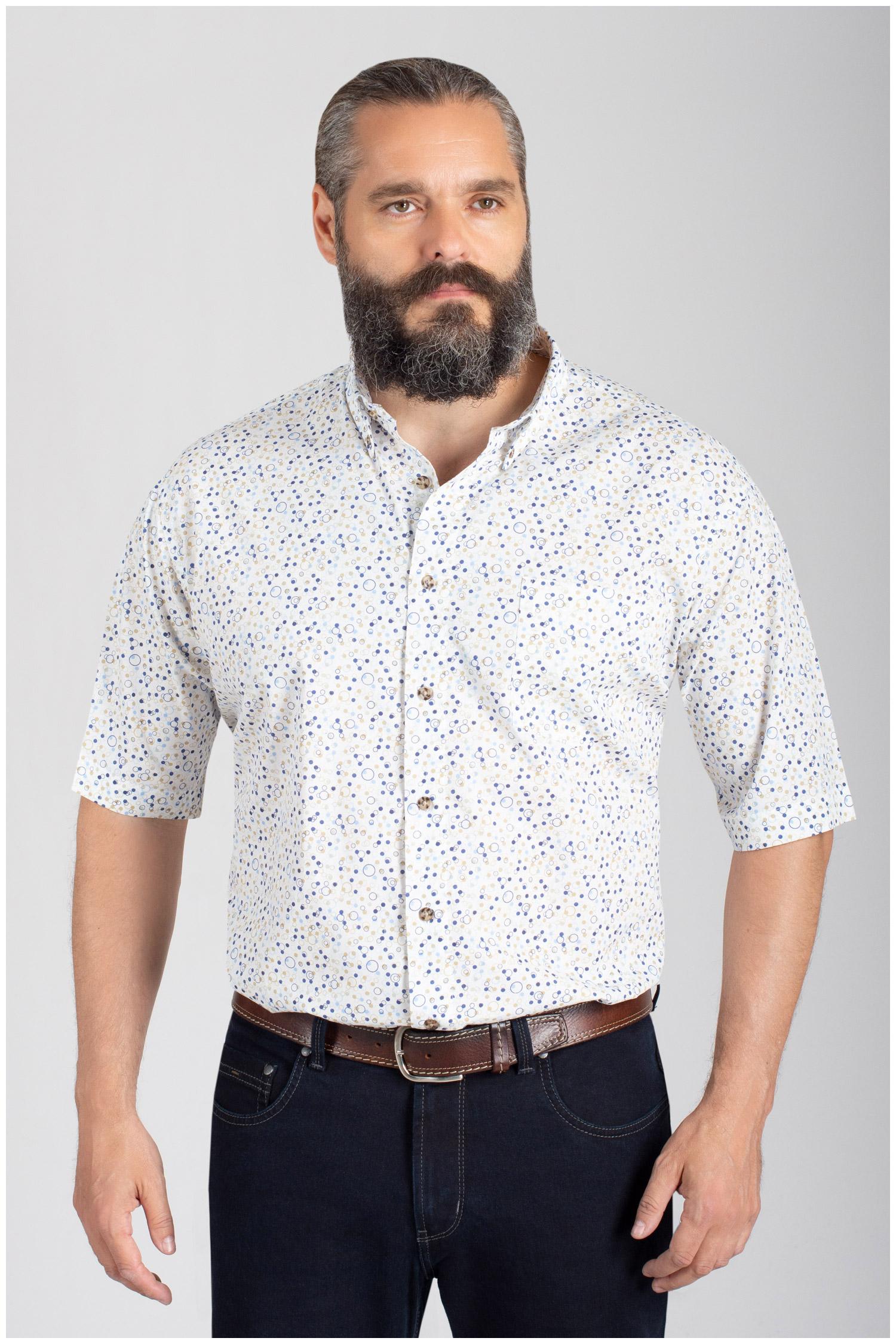 Camisas, Sport Manga Corta, 110856, AZUL | Zoom