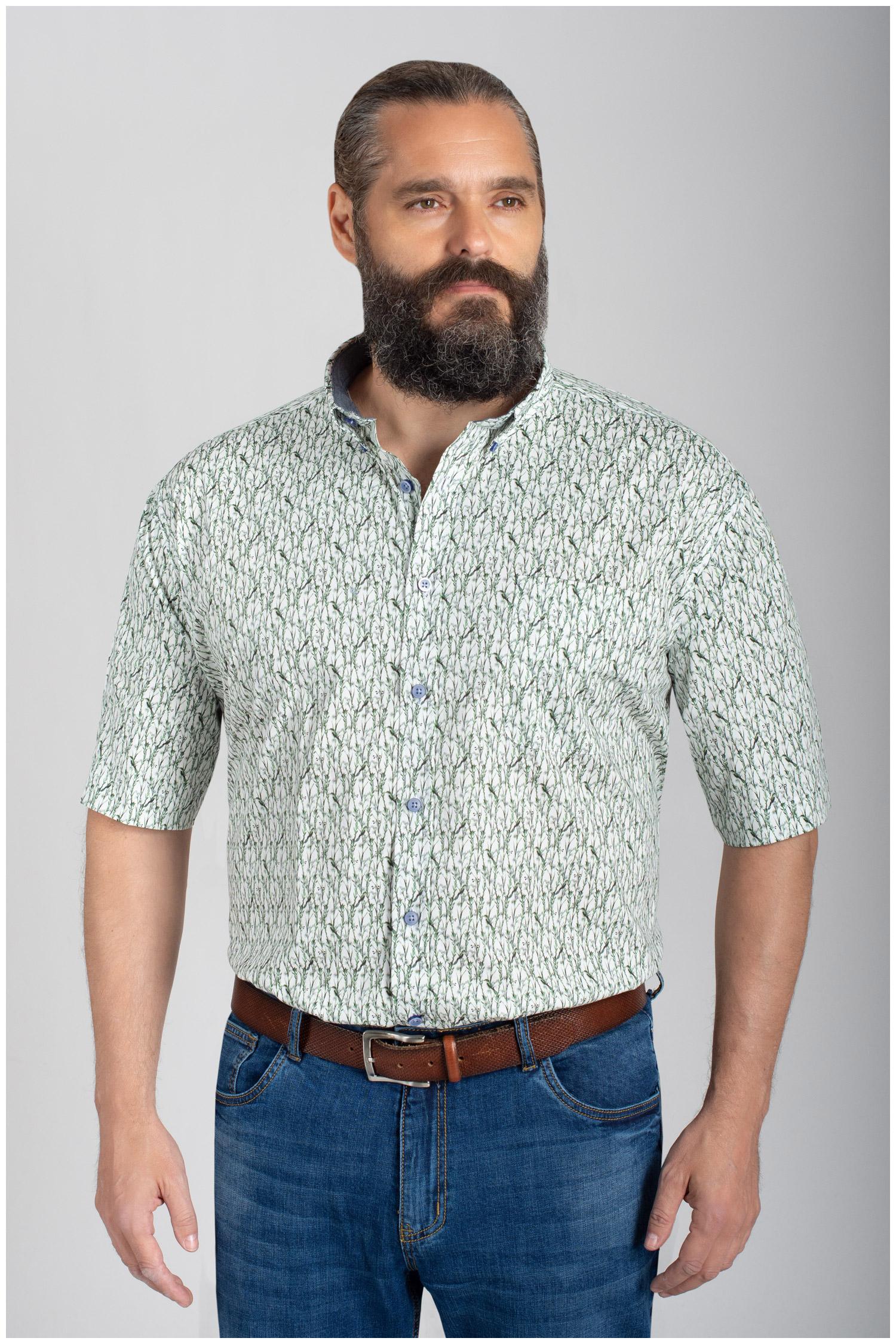 Camisas, Sport Manga Corta, 110857, VERDE | Zoom